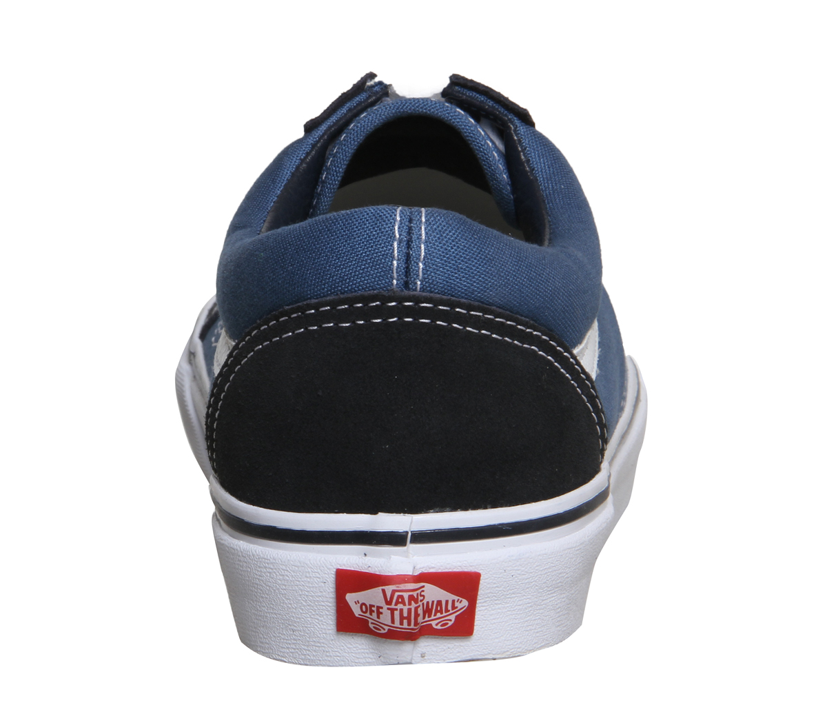 84a483c489 Homme-Vans-Old-Skool-Bleu-marine-Baskets-Chaussures miniature