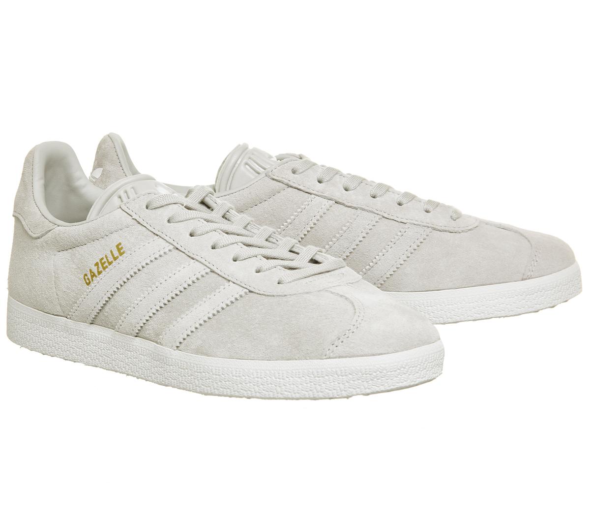 White Gazelle Gray Sneakers Adidas One Womens 5HqnB0Ixq