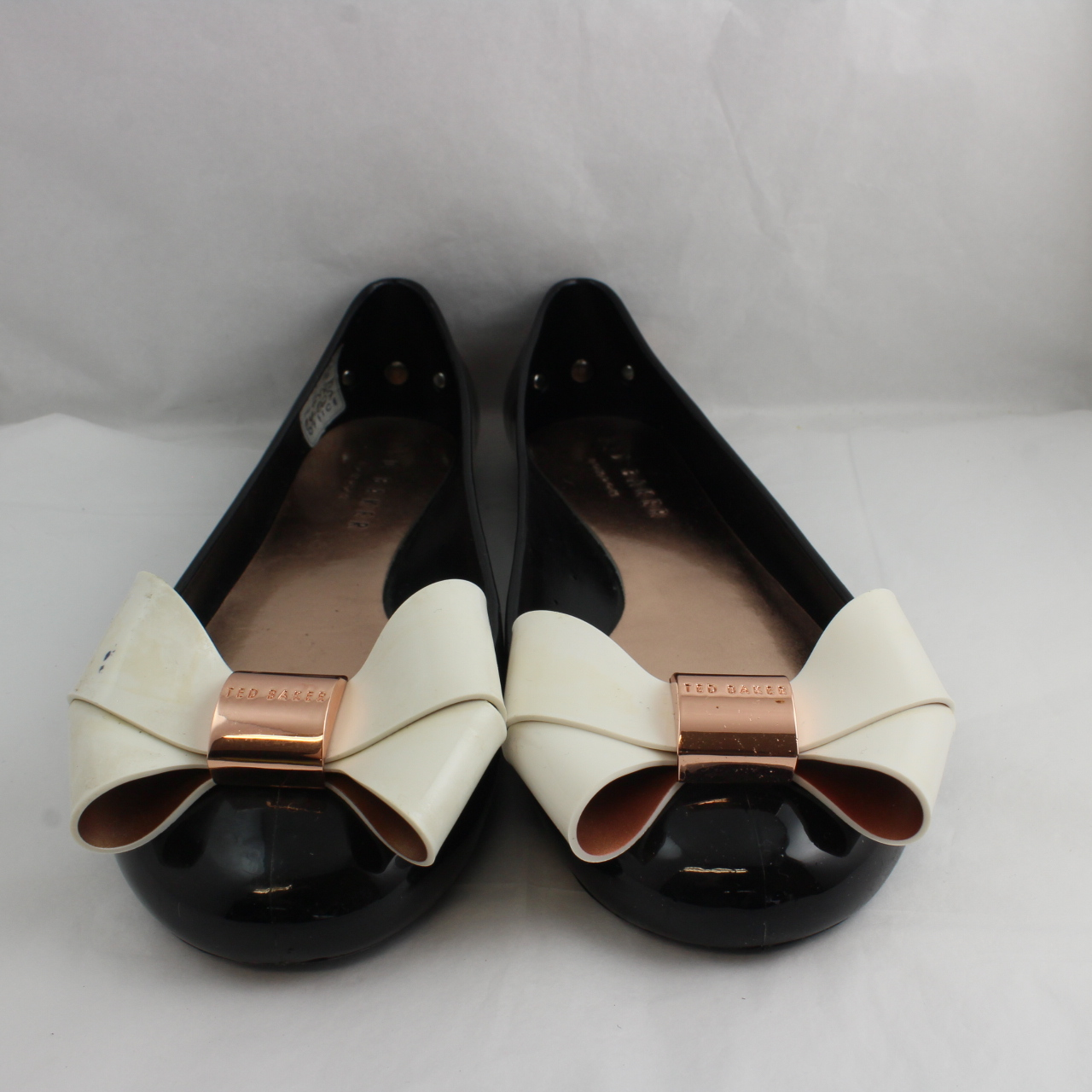 09cabf8b7 Sentinel Thumbnail 2. Sentinel Womens Ted Baker Black Synthetic Slip On  Ballerinas Size UK ...