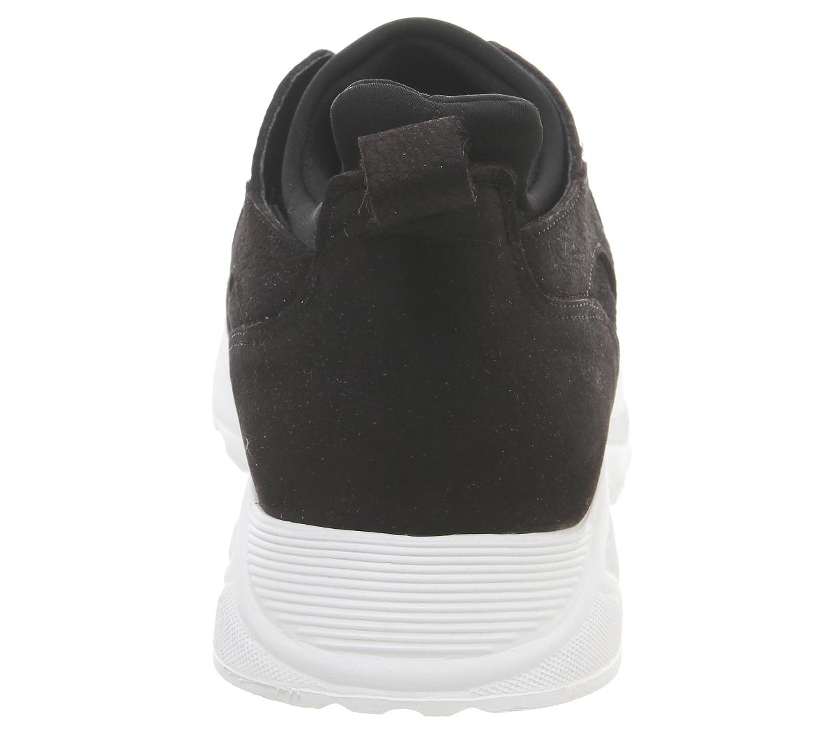 Mens-Office-Lacrosse-Trainers-Black-Nubuck-Casual-Shoes thumbnail 7