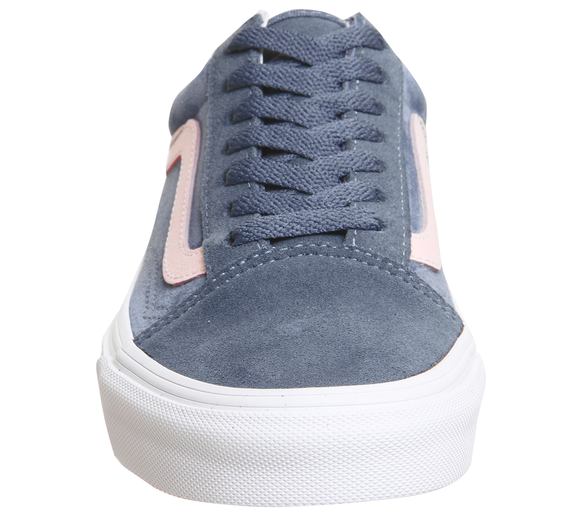 53df6e44d3 Sentinel Womens Vans Old Skool Trainers China Blue Silver Peony True  Exclusive Trainers S
