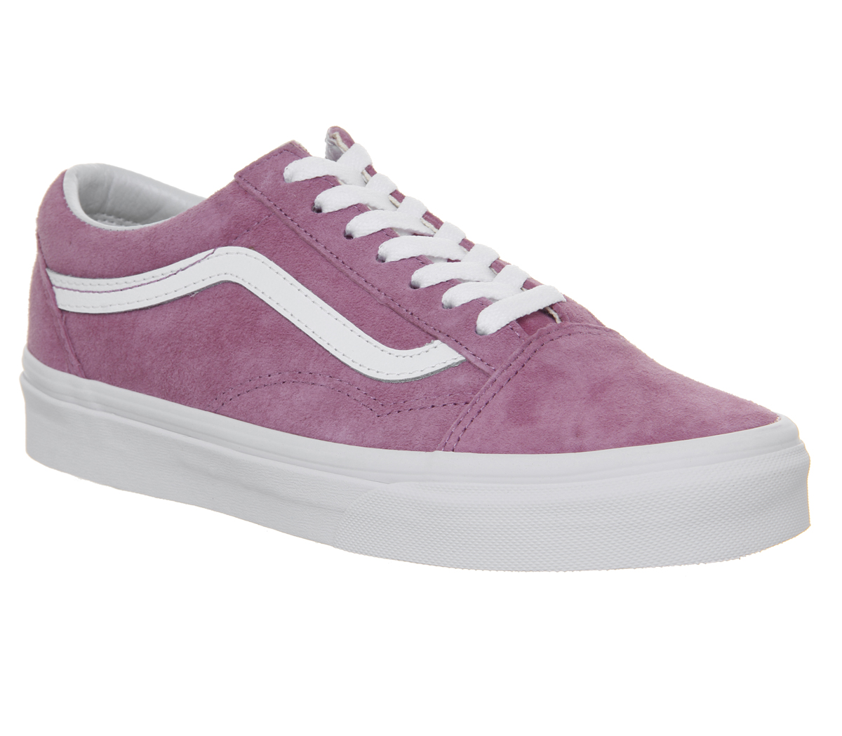 5cd0a9a573f Sentinel Womens Vans Old Skool Trainers Violet True White Trainers Shoes