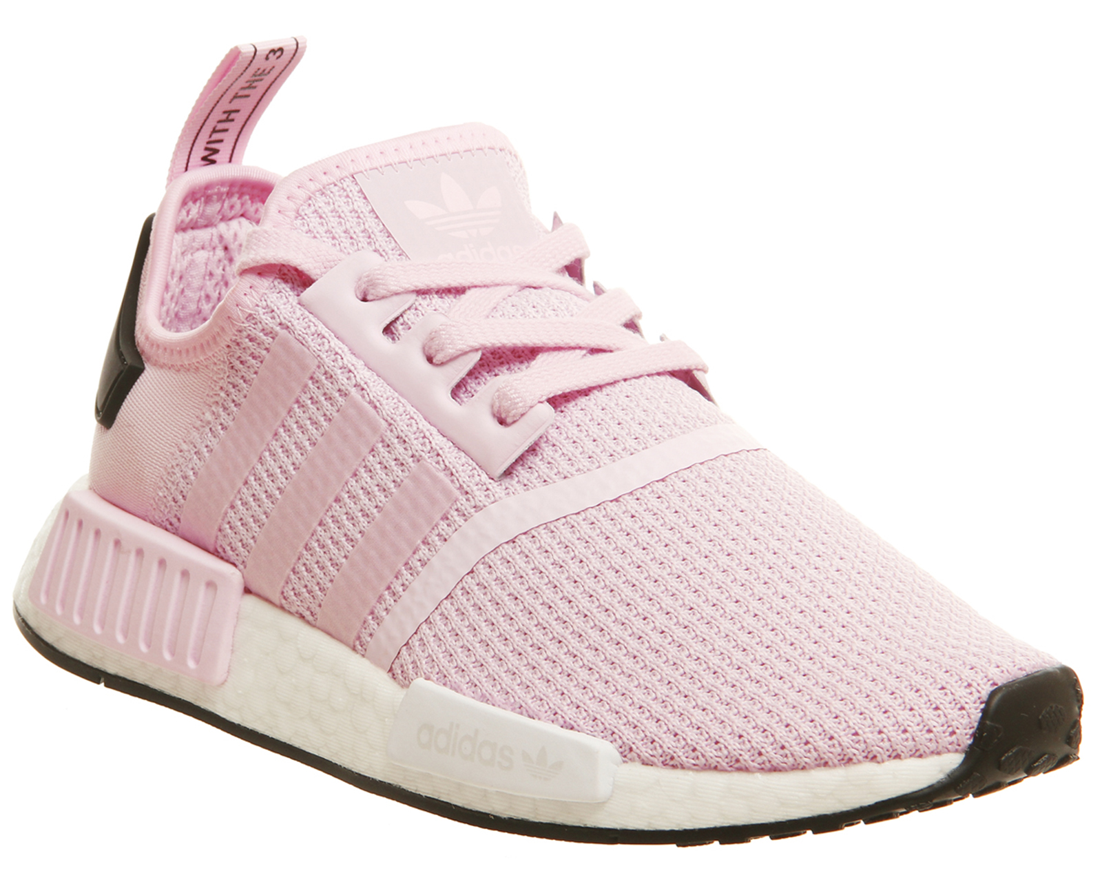 new concept 1e036 c16bc reduced white pink womens adidas nmd runner shoes 97373 ac916