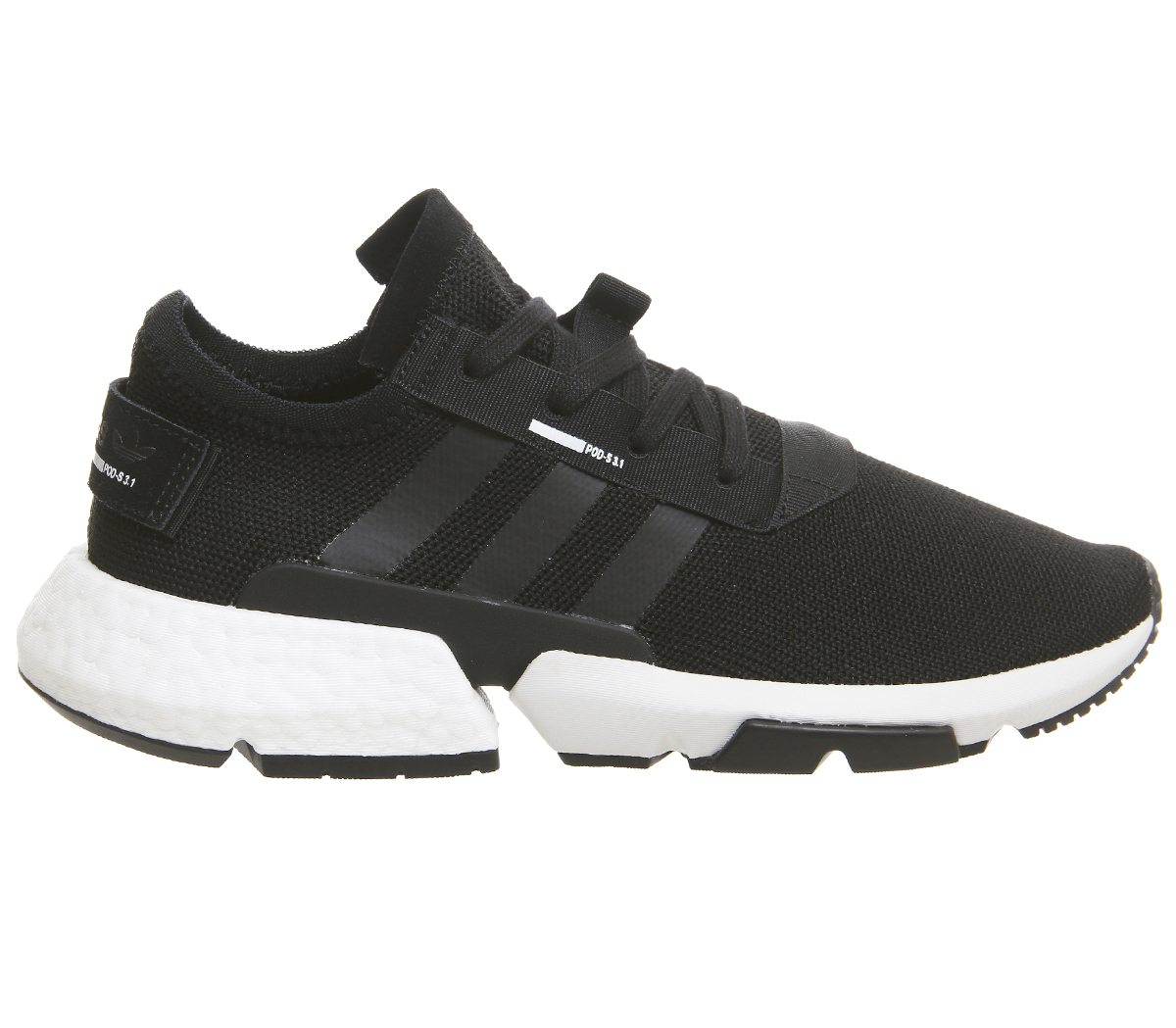 Adidas Pod S3.1 Trainers Black White Trainers Shoes   eBay c4ded7a29046