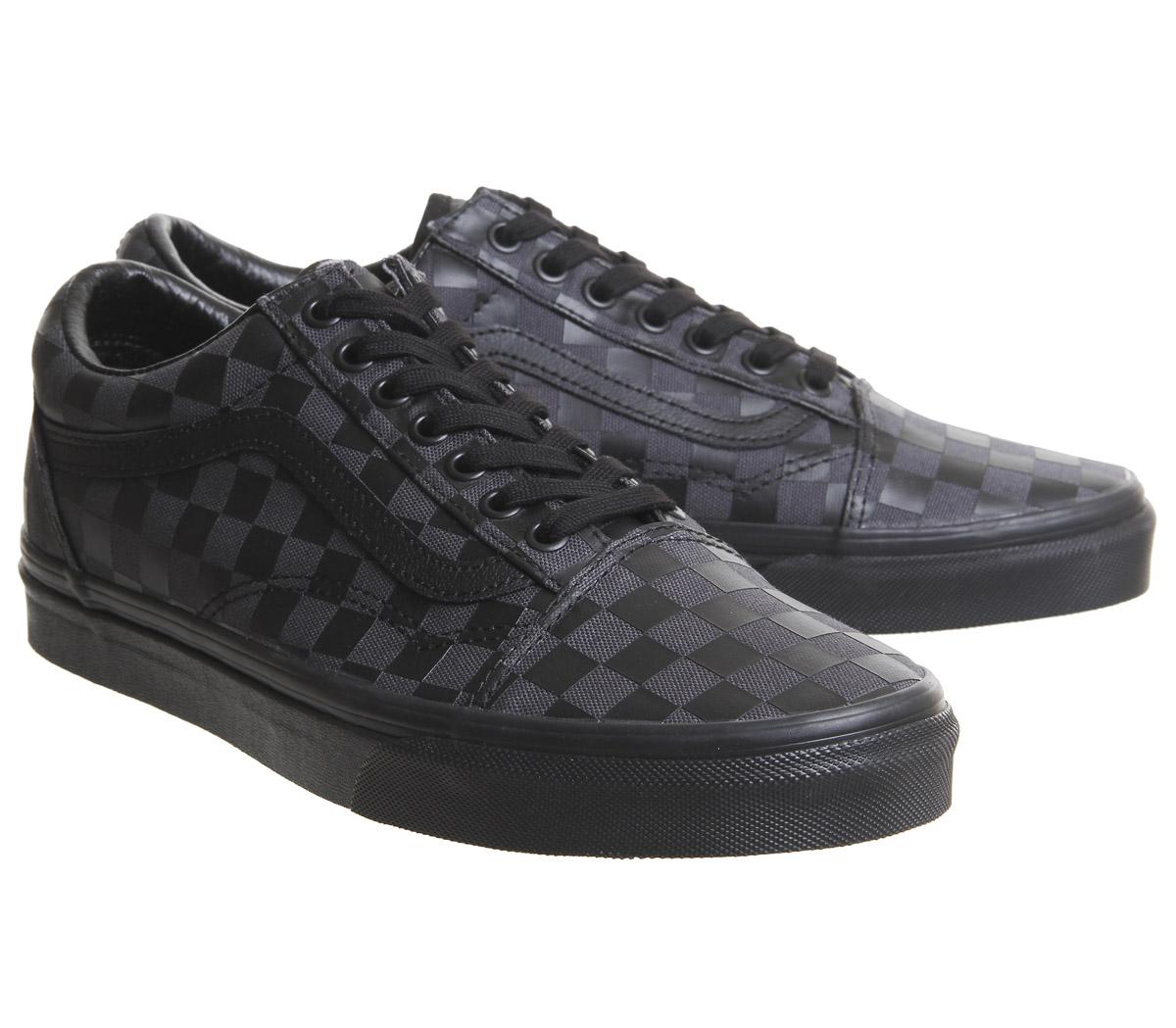 scarpe uomo vans scacchi