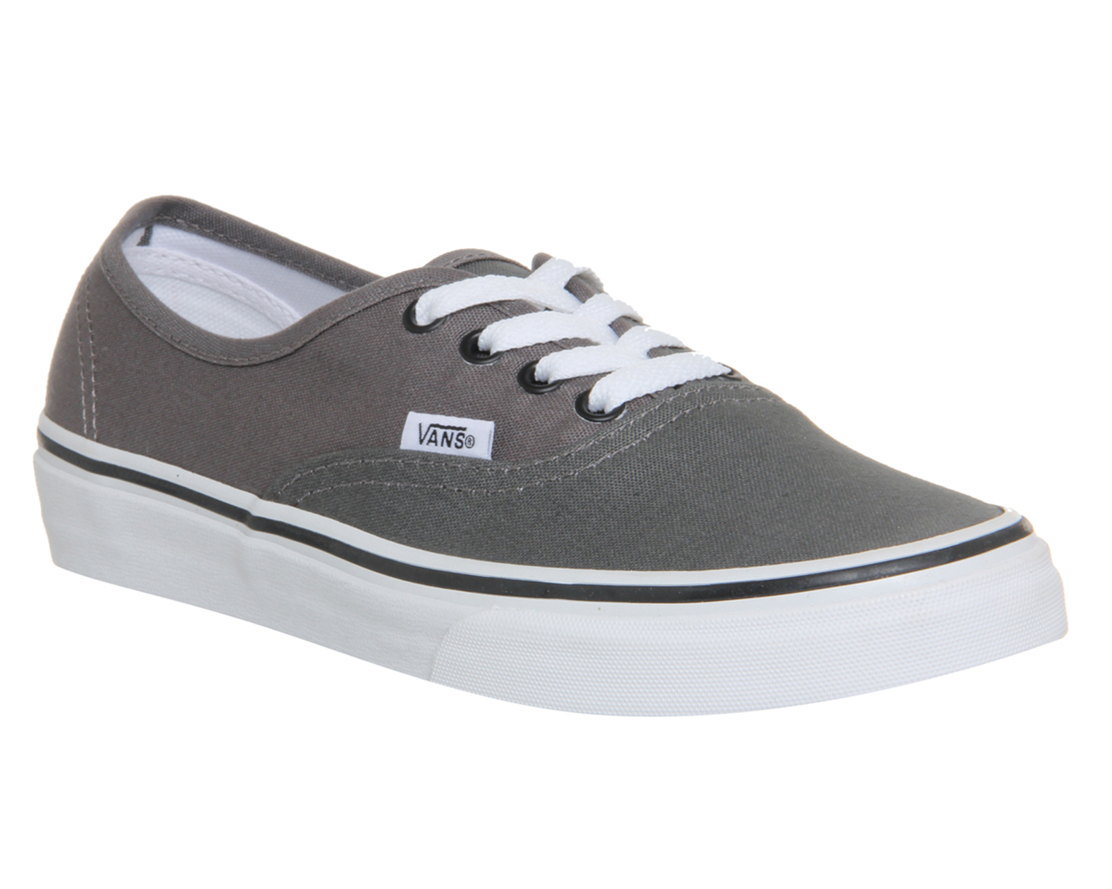 vans authentic herren pewter
