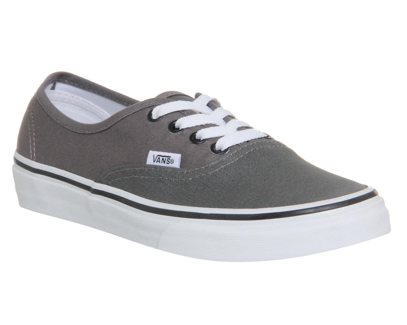 Para Hombre Vans Auténtico Matt Negro Zapatillas Zapatos  aa06abcdf45