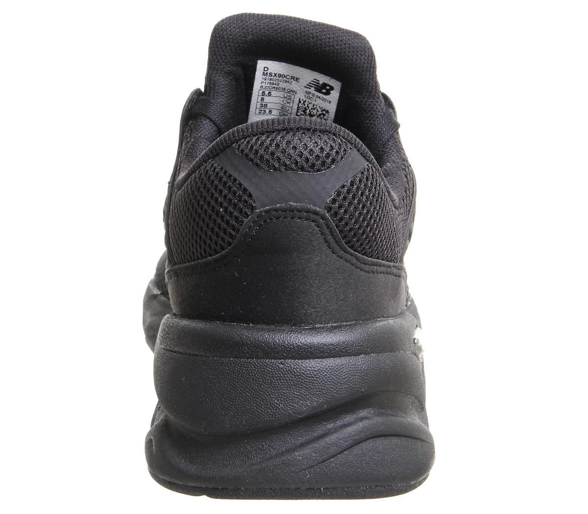 a7f0c8d503c New-Balance-X90-Baskets-Noir-Mono-Baskets-Chaussures miniature