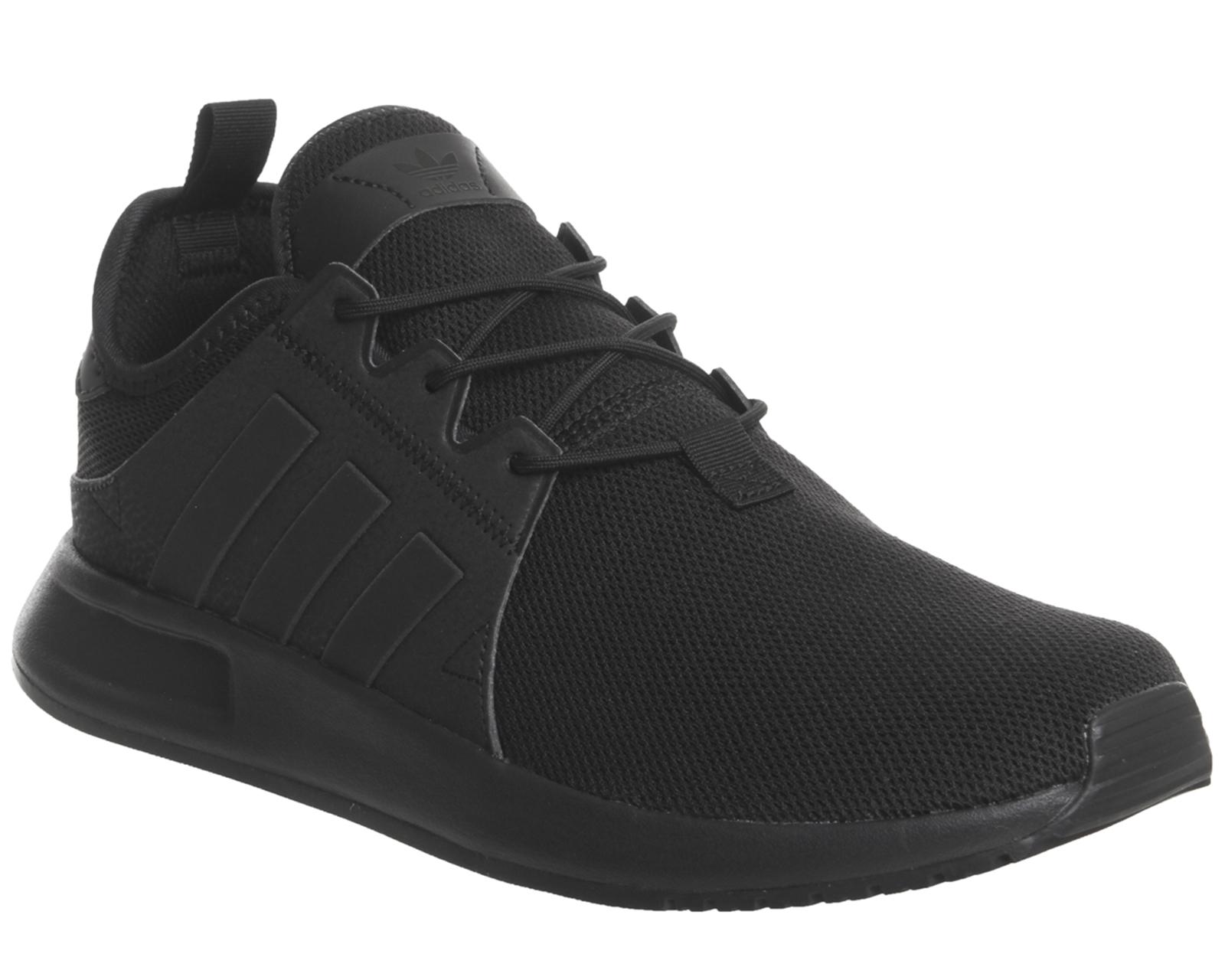 low cost 9fcd7 4b99d Sentinel Adidas X Plr Black Mono Trainers Shoes