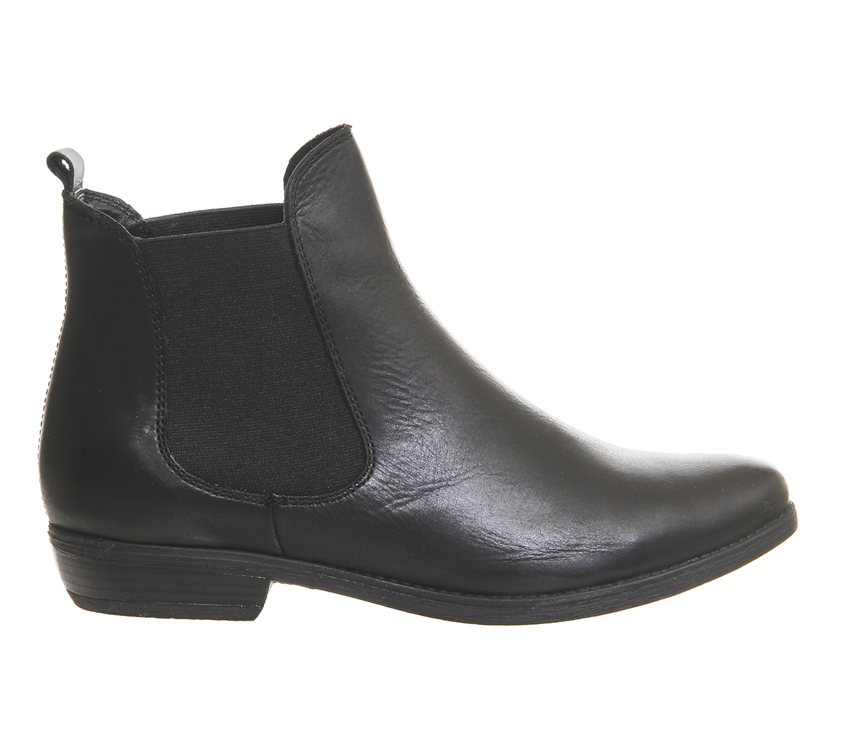 Womens Office BLACK Dallas 2 Chelsea Boots BLACK Office LEATHER Boots a806aa