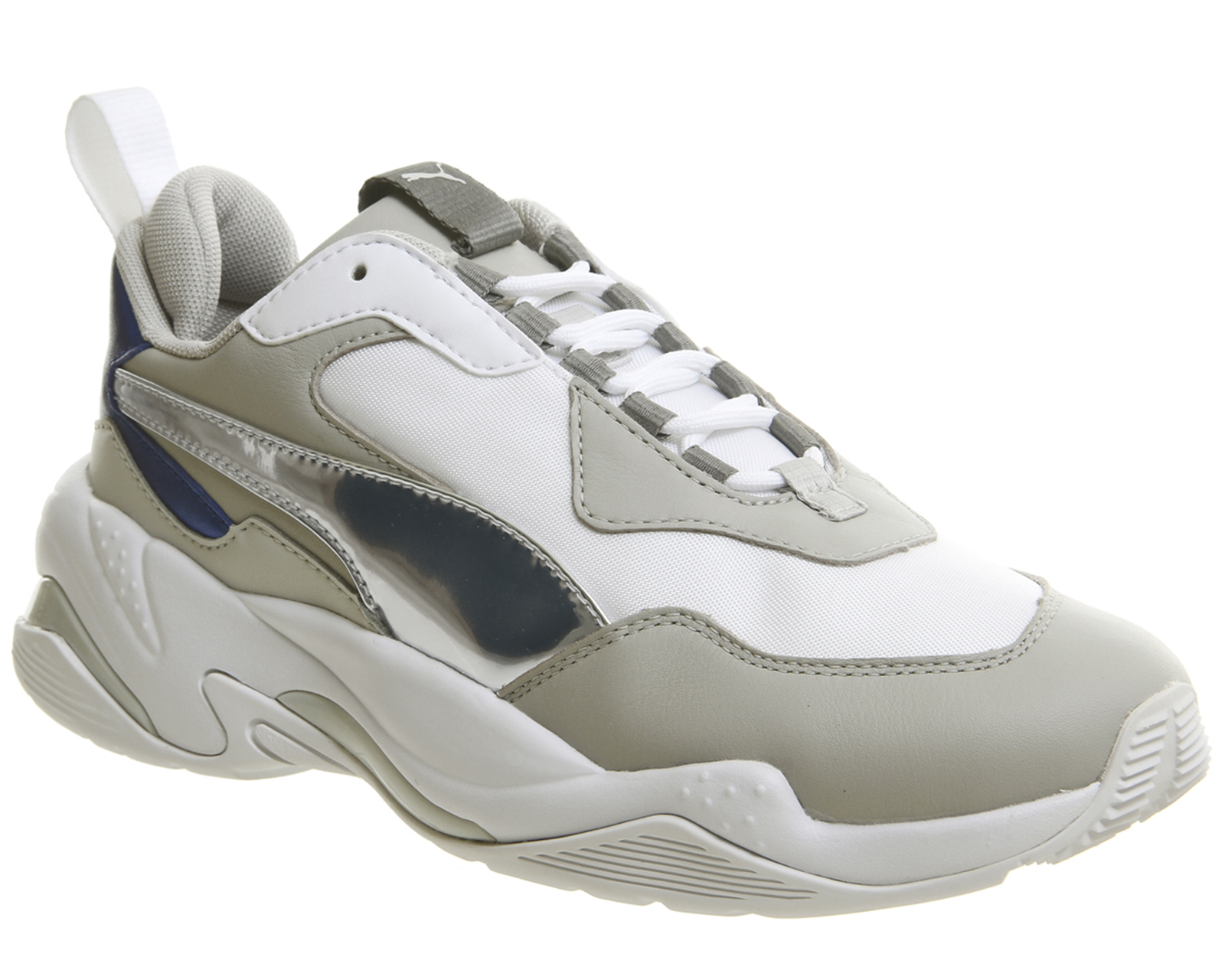 9344f3cdedd2 Sentinel Womens Puma Thunder Electric Trainers Puma White Grey Violet Puma  Trainers Shoes