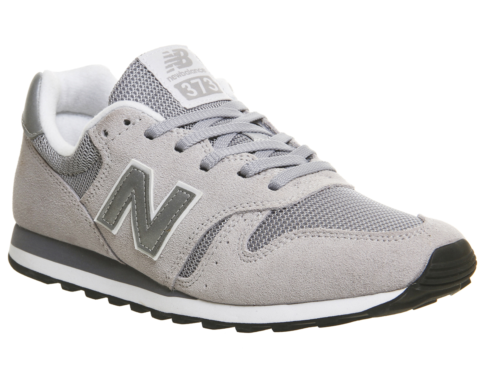 new balance 373 navy and silver