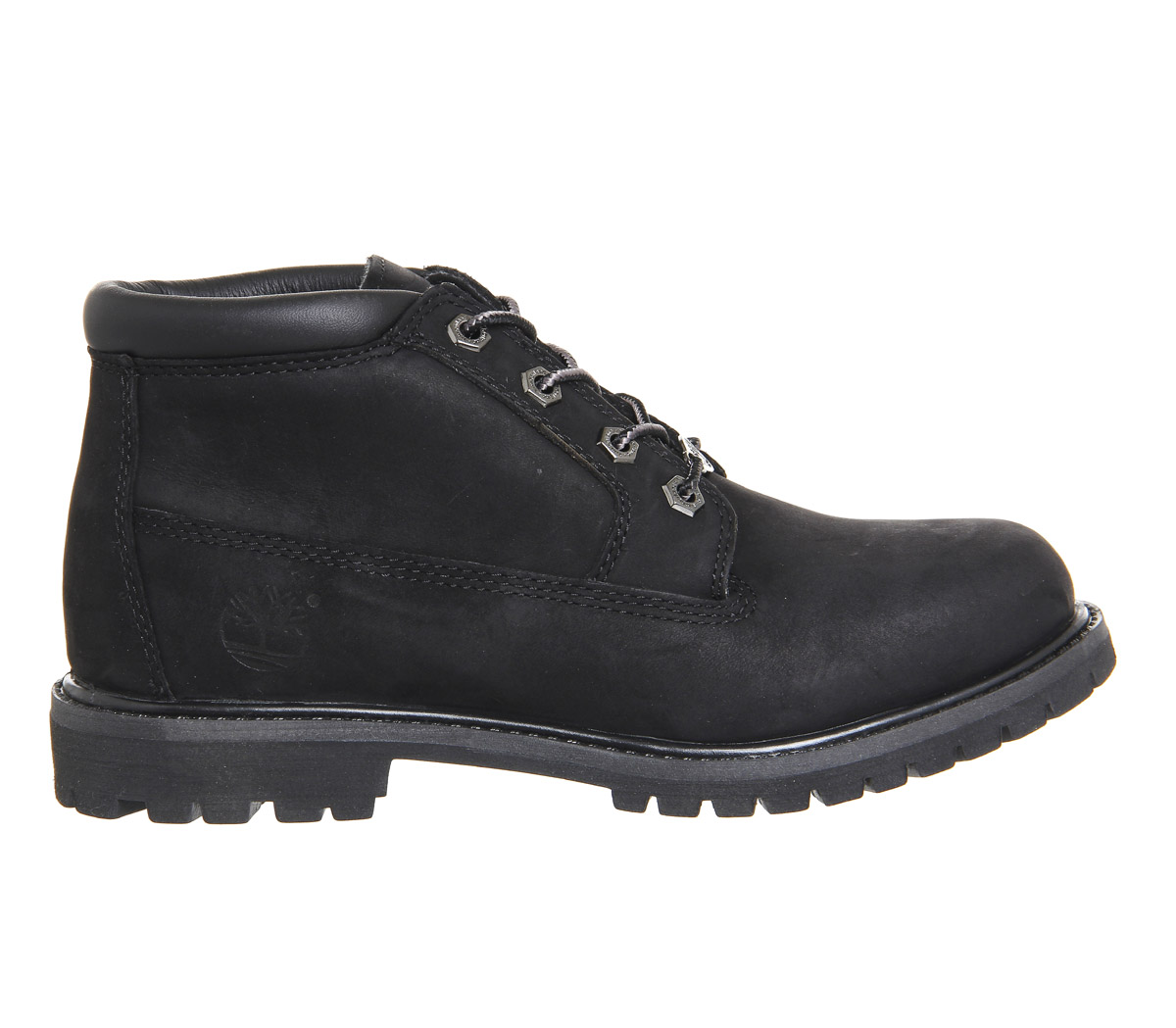 3170a830fb8c Details about Womens Timberland Nellie Chukka Double Waterproof Boots Black  Mono Boots