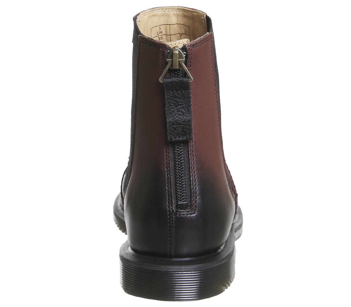 la dre martens zillow chelsea bottes cherry cherry cherry Rouge  boots bcbbc7
