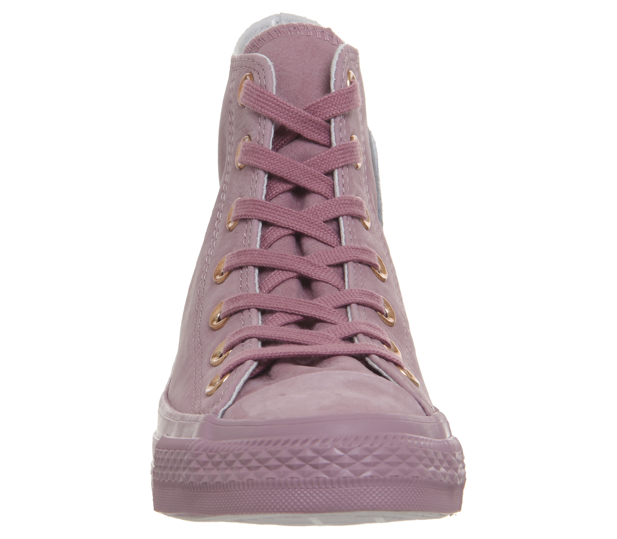 Womens Converse MOUSE All Star Hi Leather Trainers NOSTALGIA ROSE MOUSE Converse BLUSH GOLD EXC 0169c1