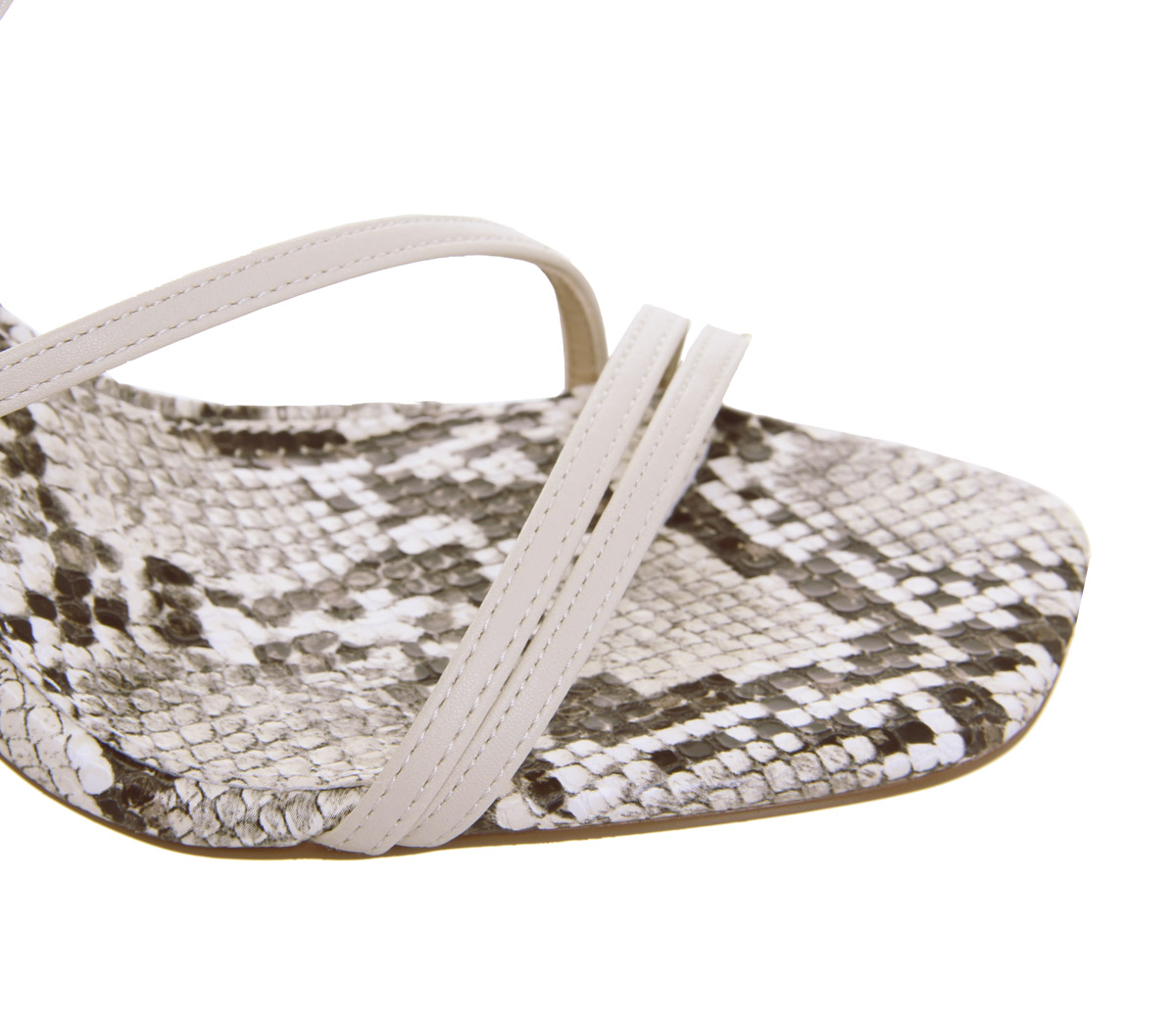 Womens Office High Demand Heels Heels Heels Off White With Snake Heels 06df8d