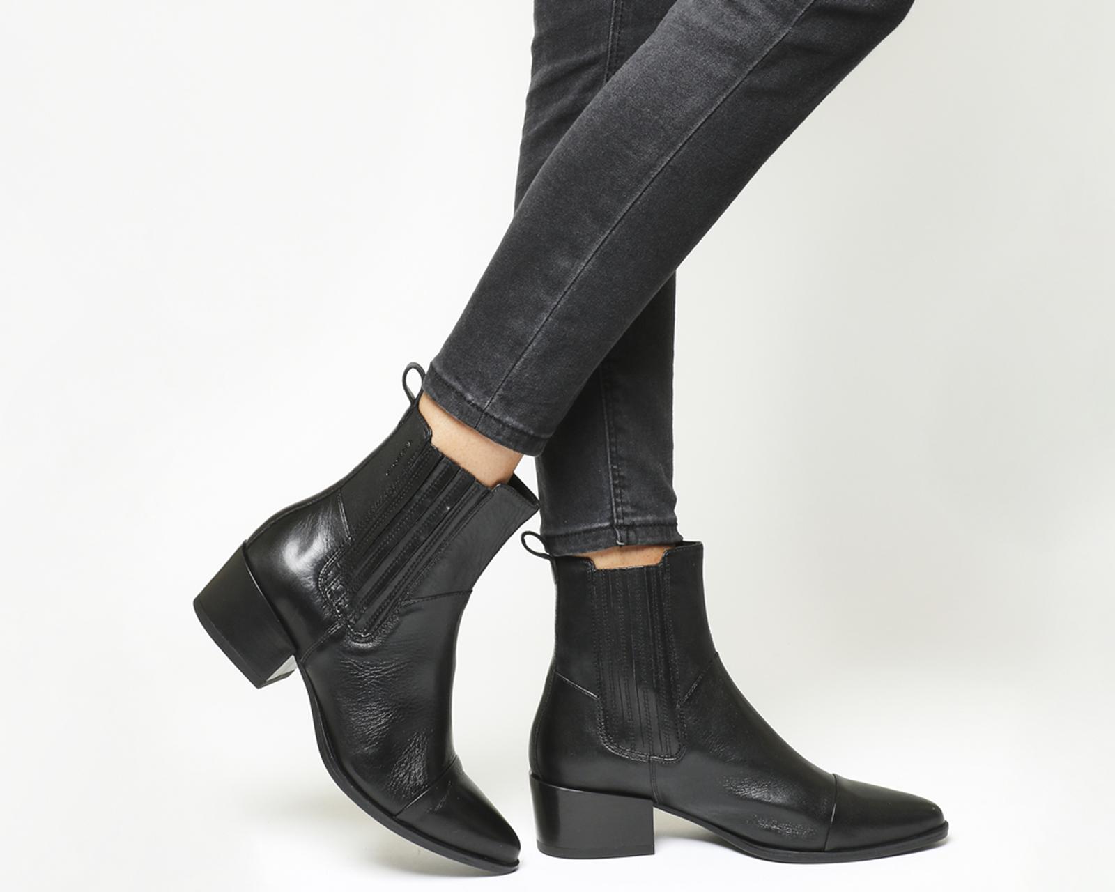682e6c92643 Sentinel Womens Vagabond Marja Chelsea Boots Black Leather Boots