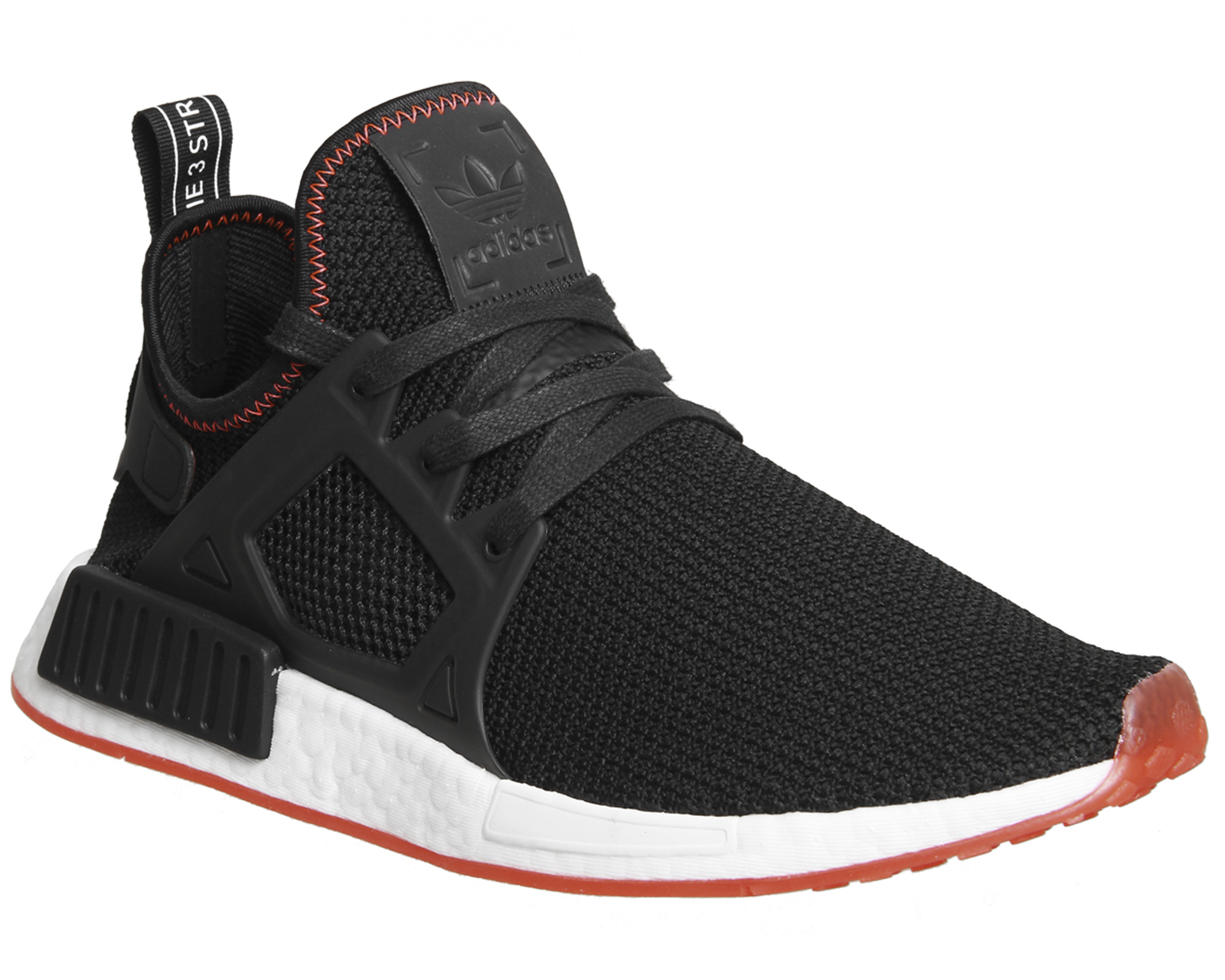 cheaper c2e1b 97713 Sentinel Adidas Nmd Xr1 BLACK BLACK SOLAR RED Trainers Shoes