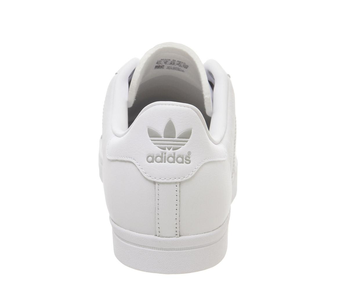 Adidas-Coast-Star-Baskets-Blanc-Baskets-Chaussures miniature 8
