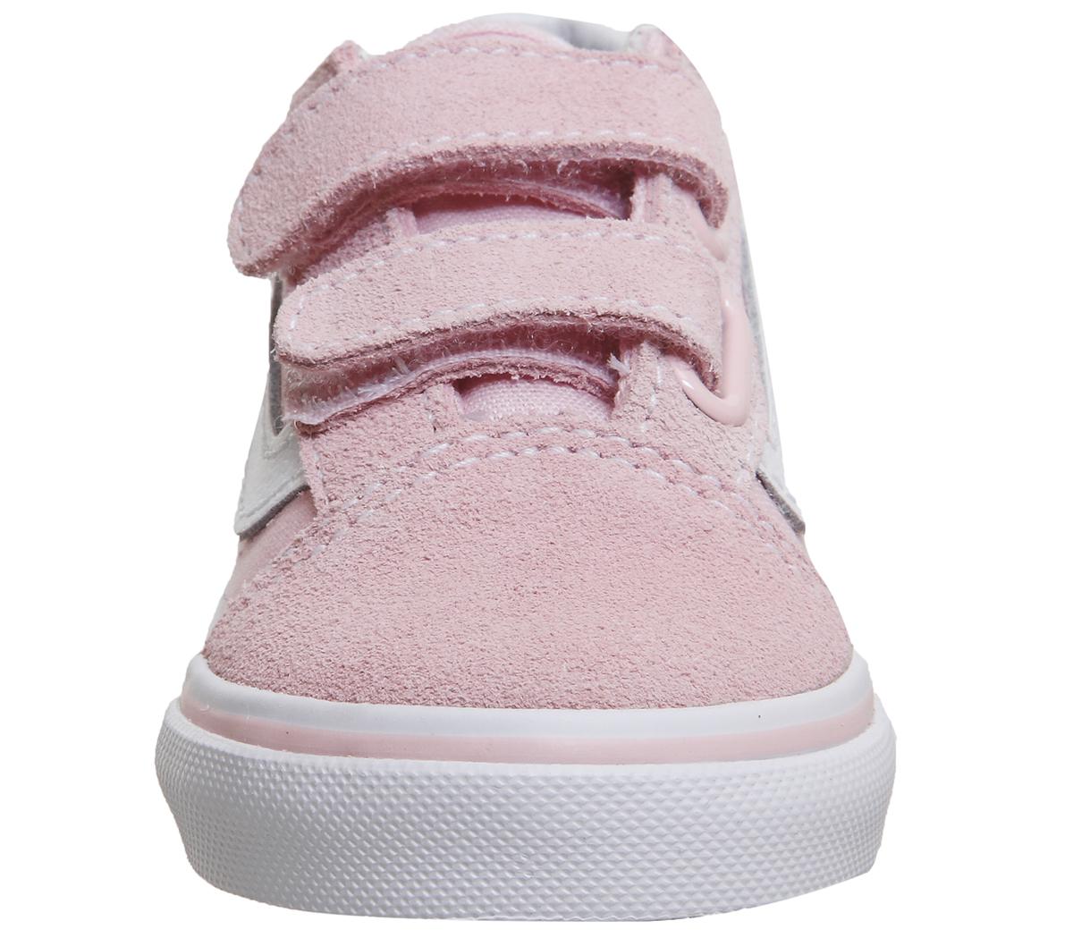 c460c1d113be65 Kids Vans Old Skool Chalk Pink True White Kids