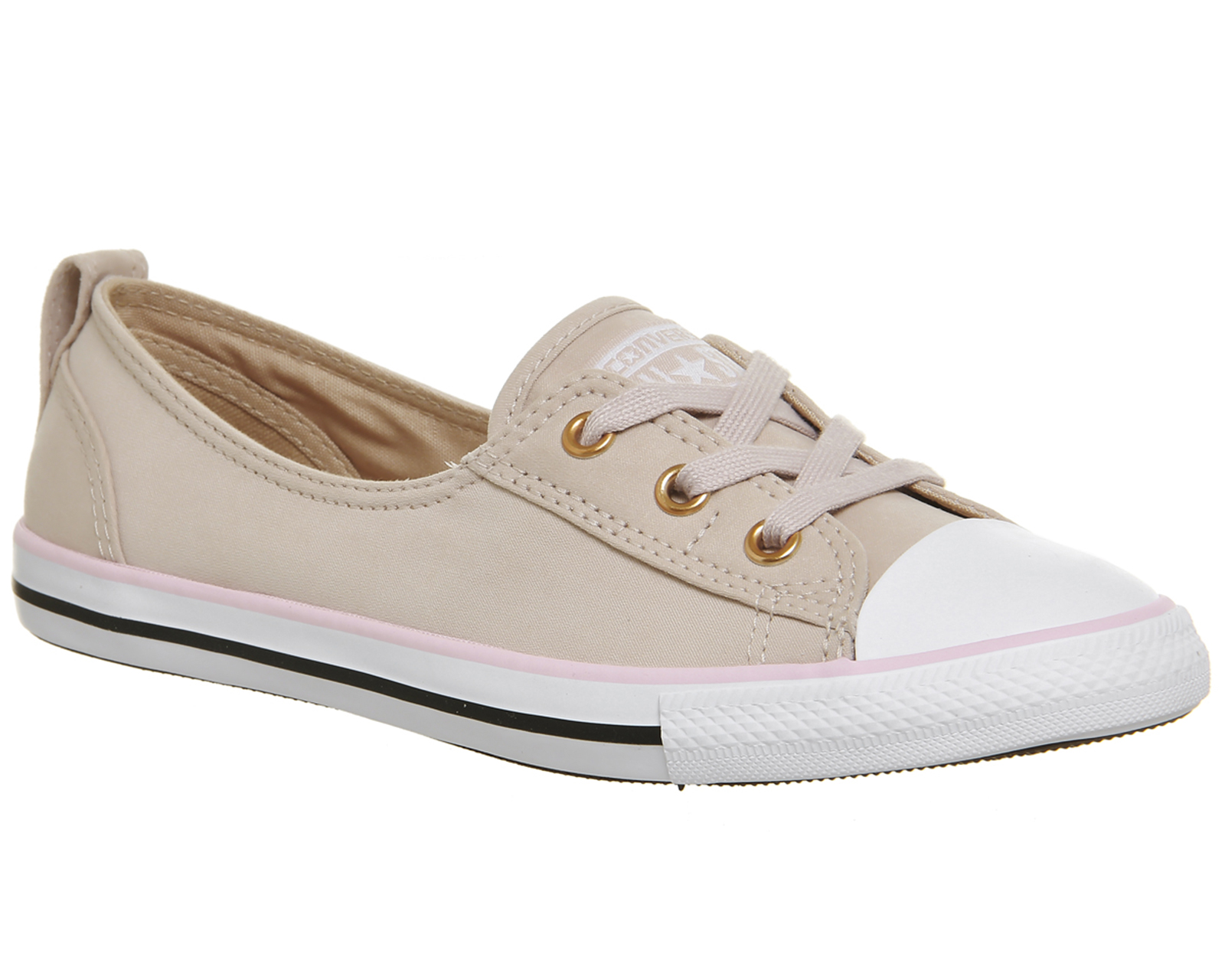 1ba16603053 Sentinel Womens Converse Ctas Ballet Lace Trainers PARTICLE BEIGE CHERRY  BLOSSOM EXCLUSIV