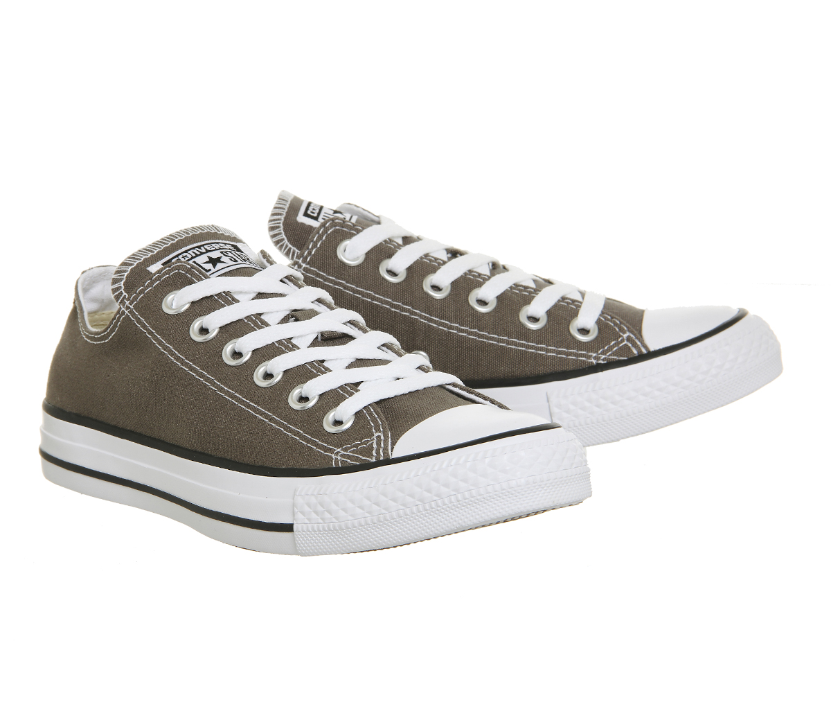 e87d4171d962 Converse Converse All Star Low Charcoal Trainers Shoes