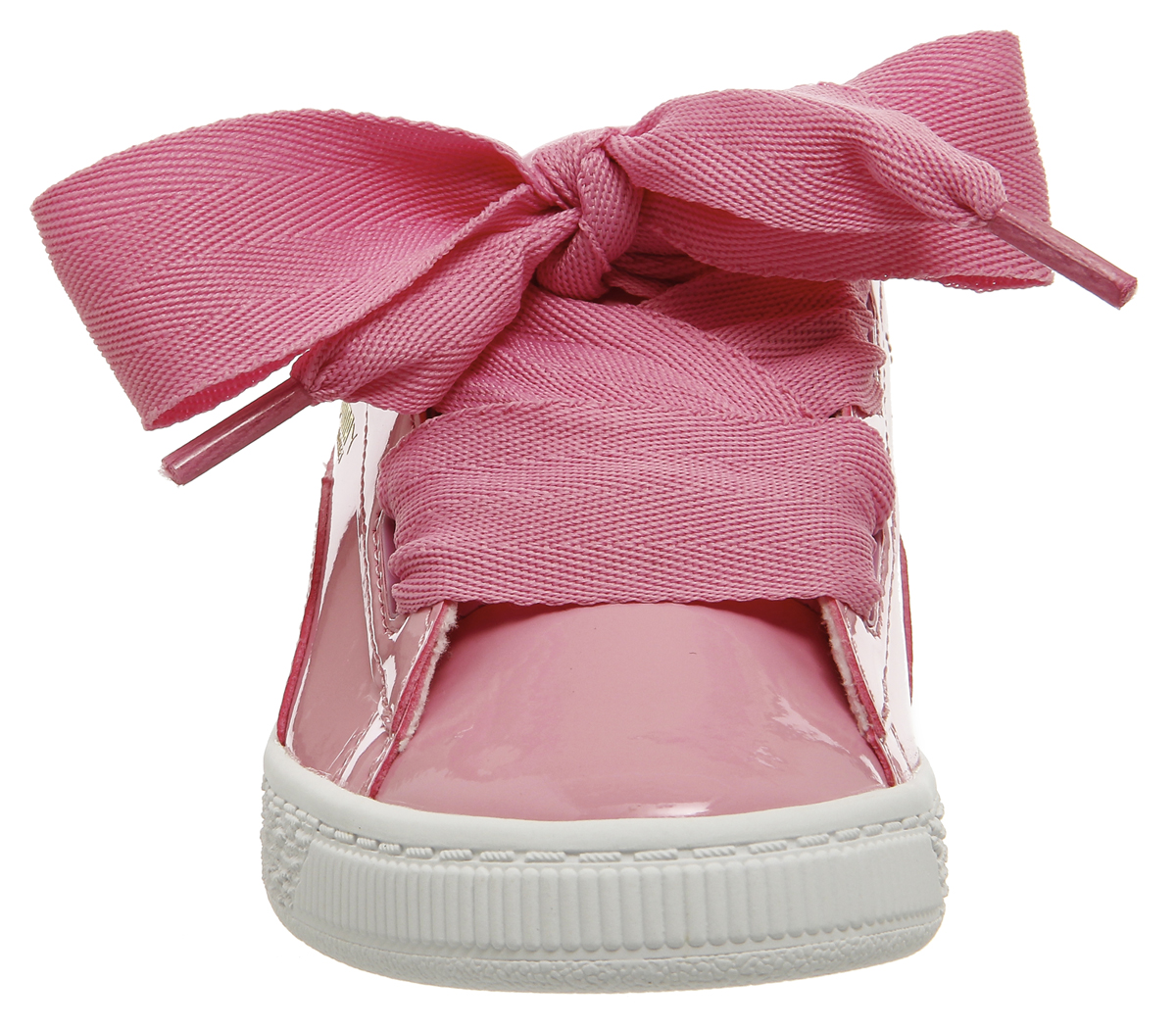 PUMA Basket Heart Patent Junior Trainers Size 1. About this product.  Picture 1 of 7  Picture 2 of 7  Picture 3 of 7 ... bfcdf063cb3c2