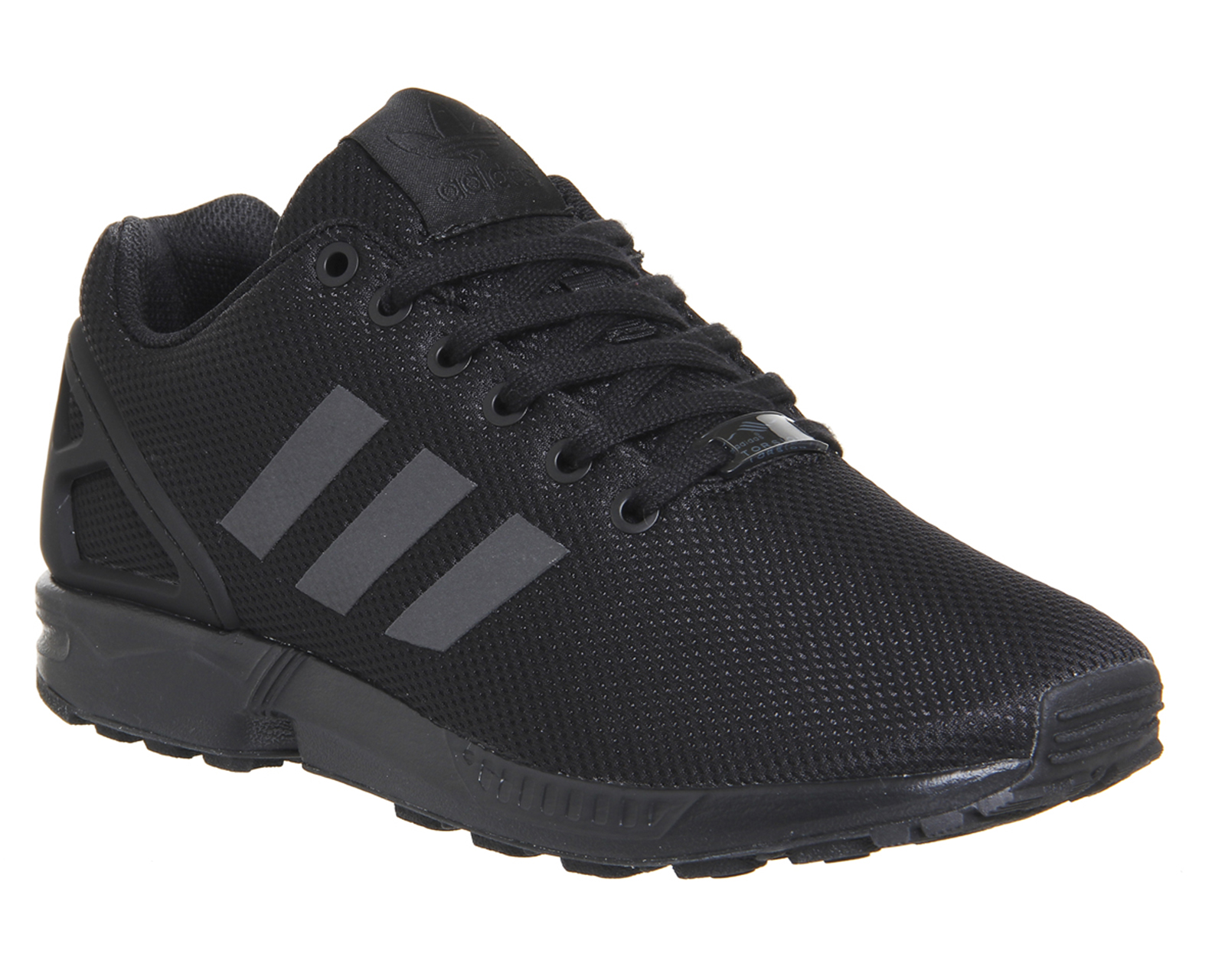 Mens Adidas Zx Flux BLACK Trainers Shoes | eBay