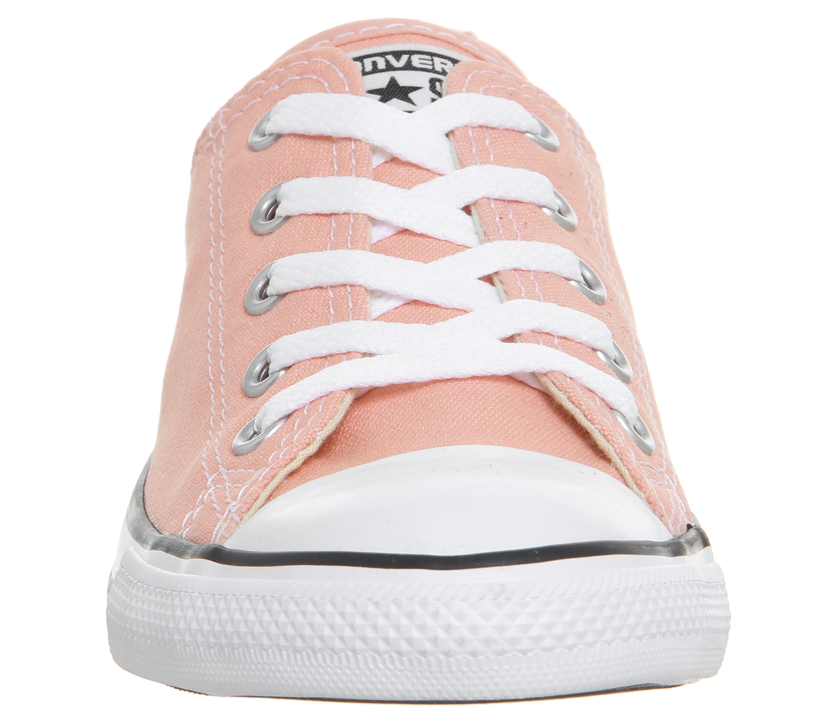 bb601a2216a Sentinel Womens Converse All Star Dainty Trainers Pale Coral Trainers Shoes