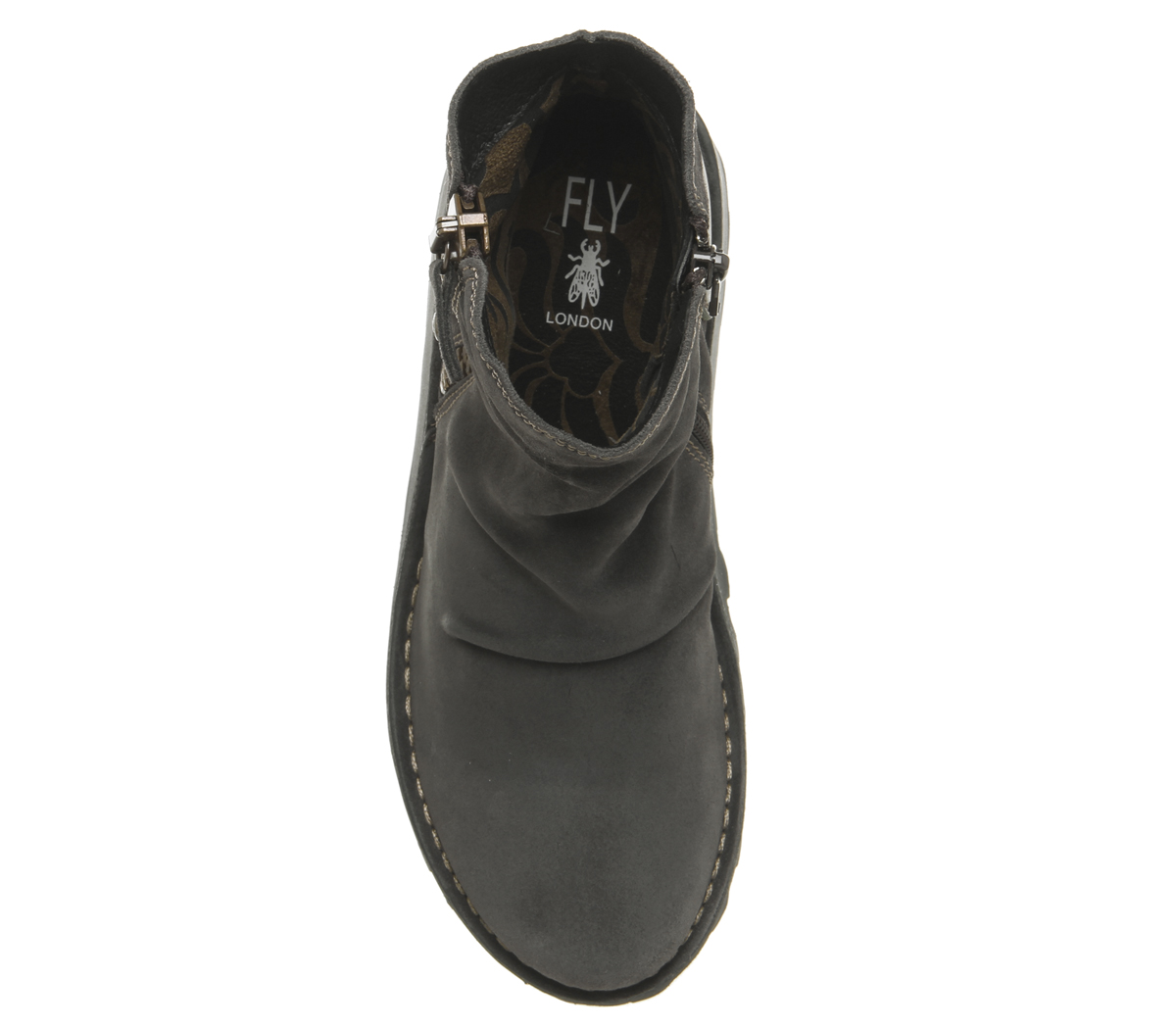 Womens-Fly-London-Mon-Zip-Boots-Diesel-Suede-Boots