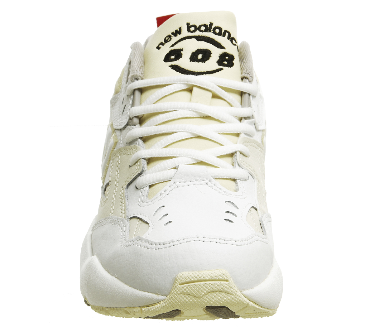 bc6e3c0315f5a Womens New Balance 608 Trainers White Cream Trainers Shoes