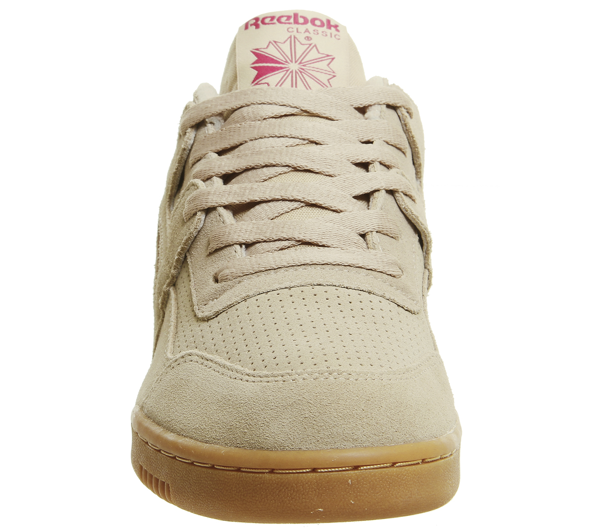 99a46164b8527 Sentinel Reebok Workout Plus Trainers Sahara Pink White Gum Trainers Shoes