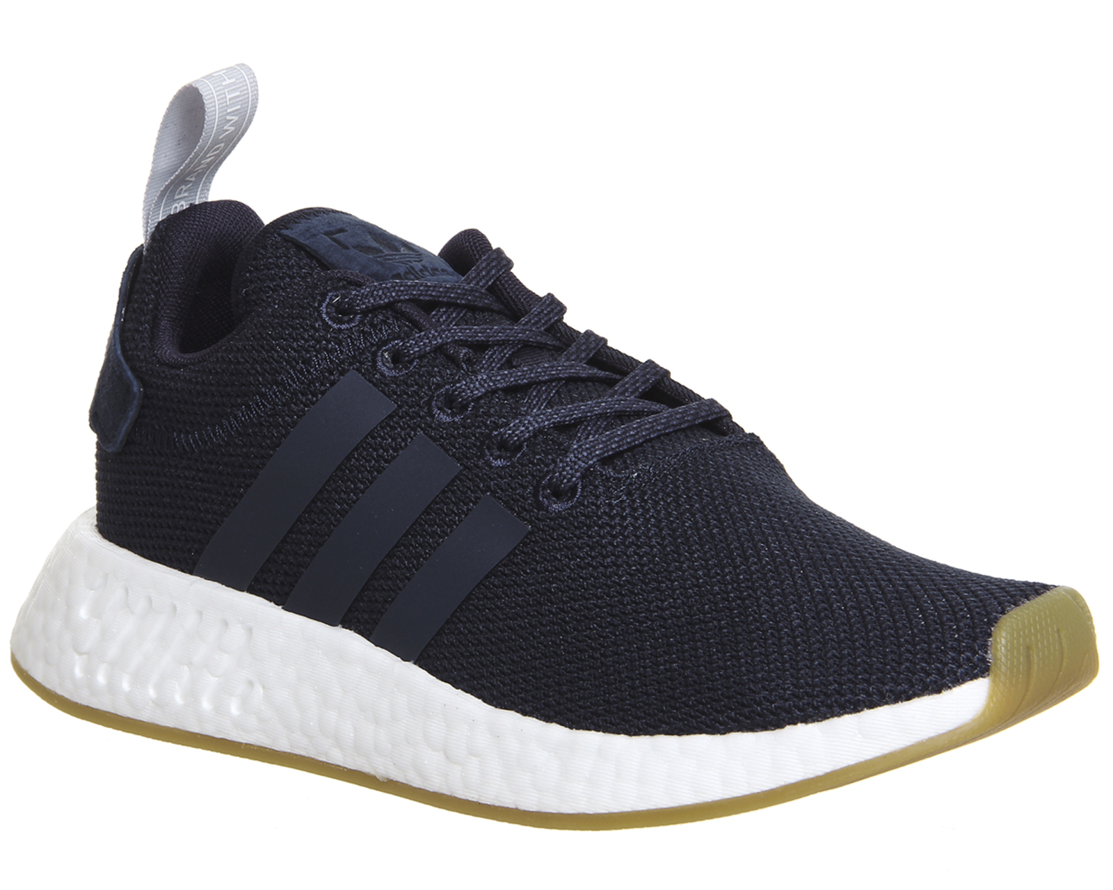 70ef7f05aa0f6 Womens Adidas Nmd R2 Trainers LEGEND INK GREY TWO Trainers Shoes