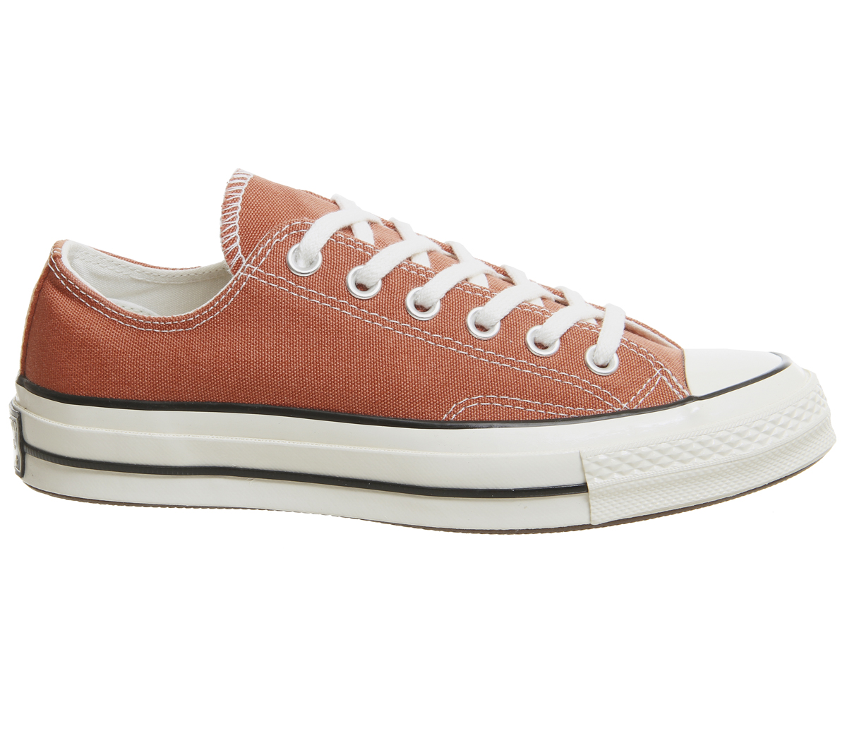 a3b85e6c292edf Sentinel Converse All Star Ox 70s Trainers TERRACOTTA RED BLACK EGRET  Trainers Shoes