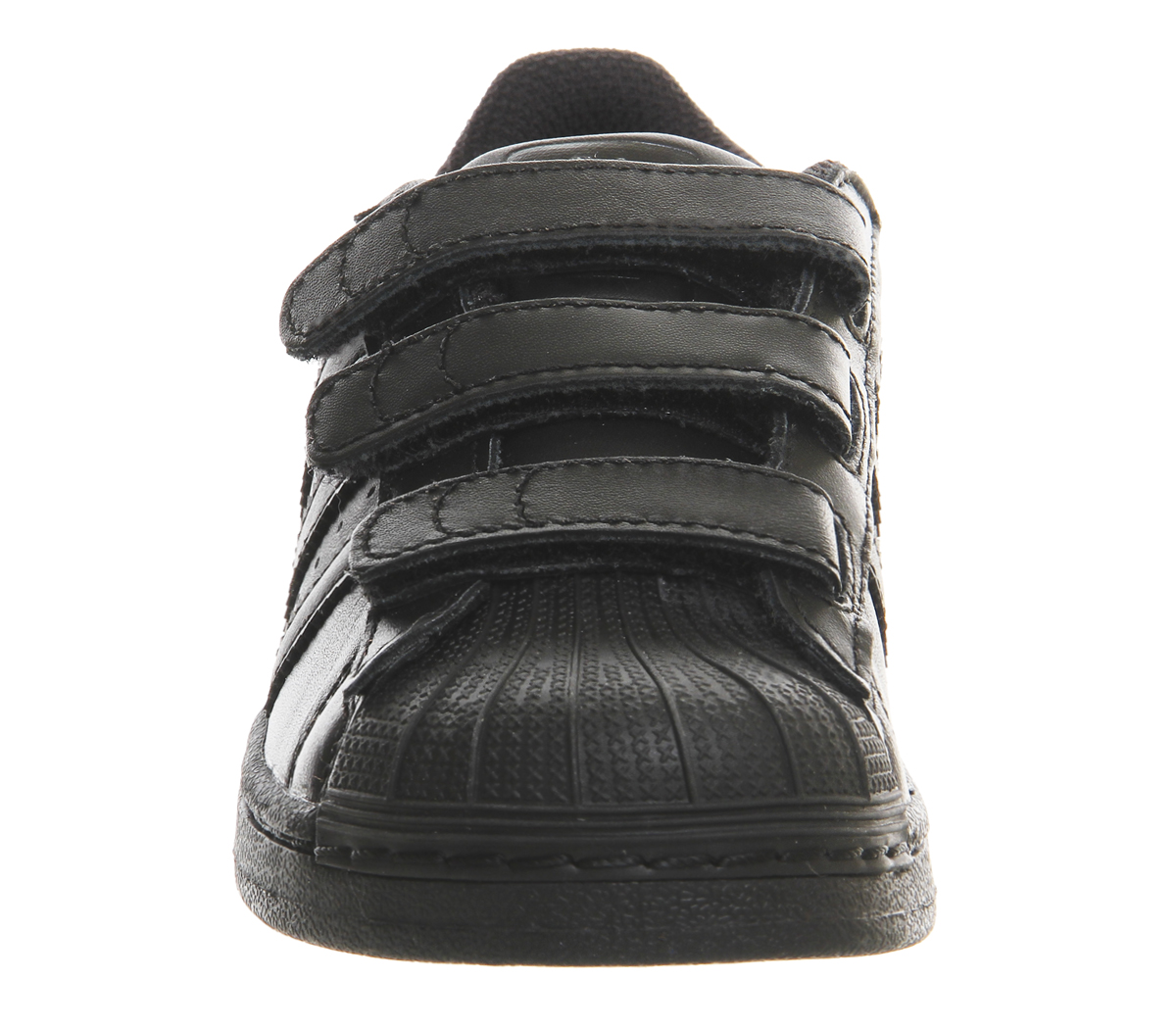 adidas superstar black kids