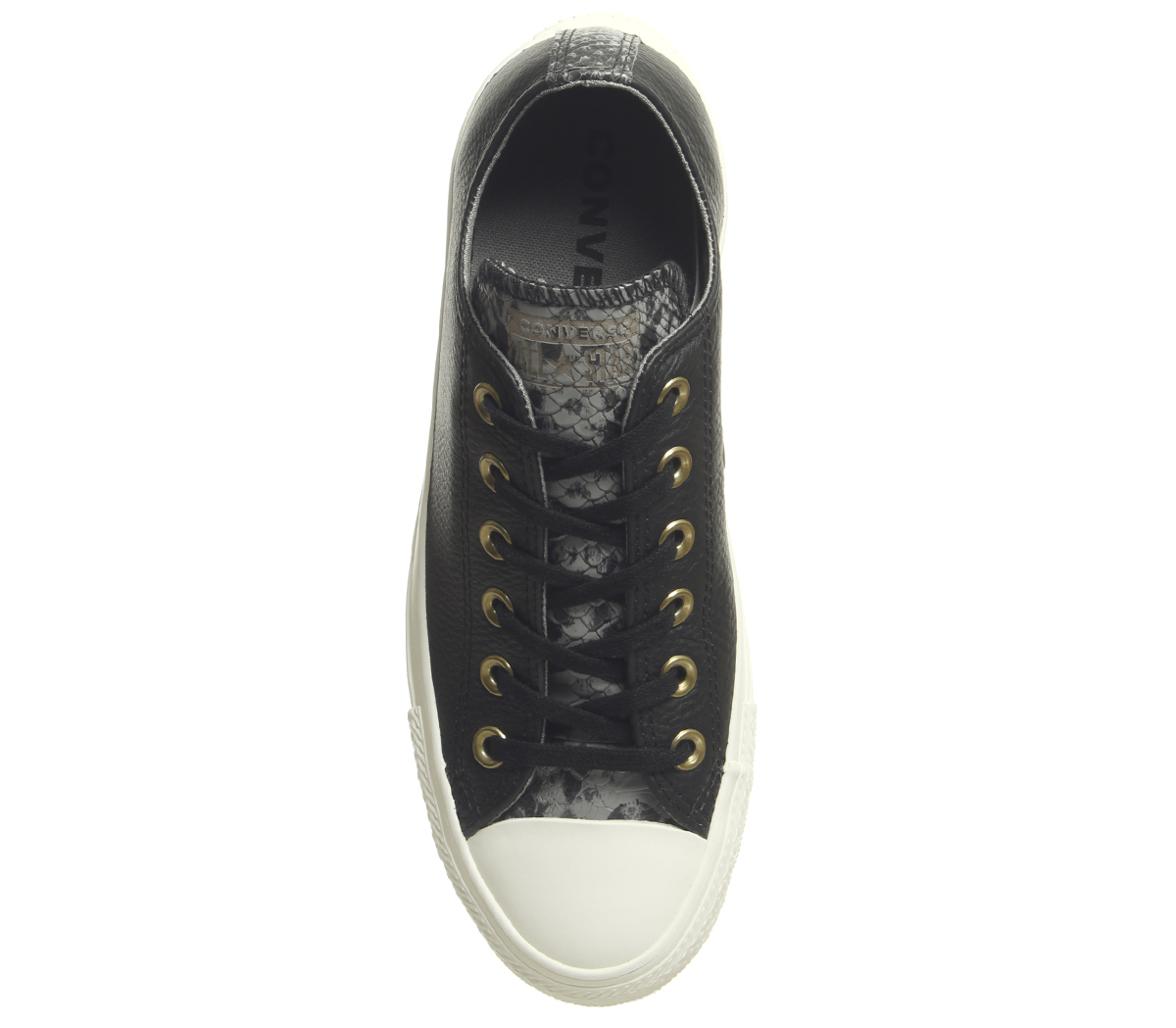 Womens Converse Converse All Star Low BLACK Trainers BLACK Low MASON EGRET SNAKE Trainers ac5b60