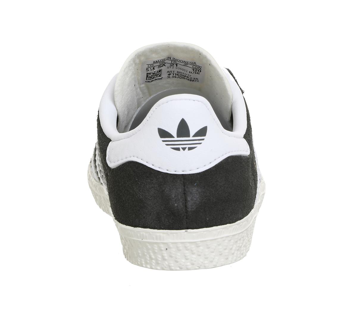 2bd153c35d03c Sentinel Kids Adidas Gazelle 2 Infant Dark Solid Grey White Kids