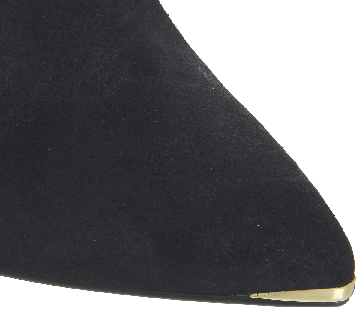 89d70329e3c Womens Ted Baker Sailly Bow Ankle Boots BLACK SUEDE Boots