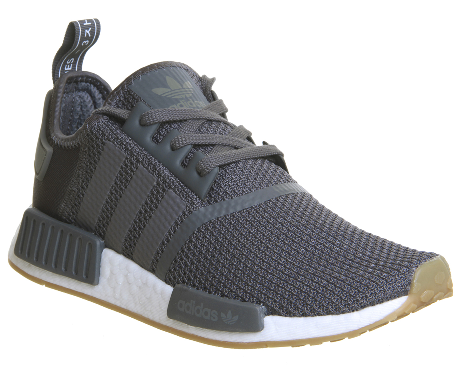 d4e3a0128b95 Sentinel Adidas Nmd R1 Trainers Grey Grey Core Black Trainers Shoes