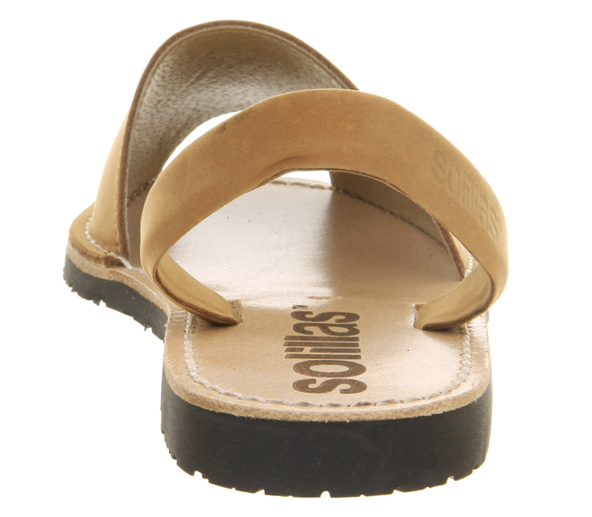 Womens-Solillas-Solillas-Sandals-Tan-Leather-Sandals thumbnail 9