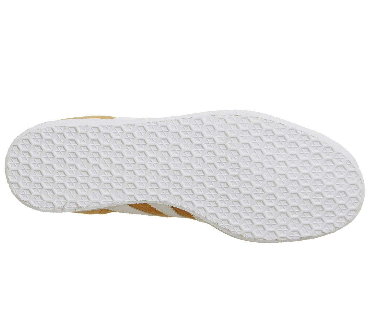 Hommes Adidas Gazelle Trainers MESA blanc  Trainers Chaussures Chaussures Chaussures ae6858