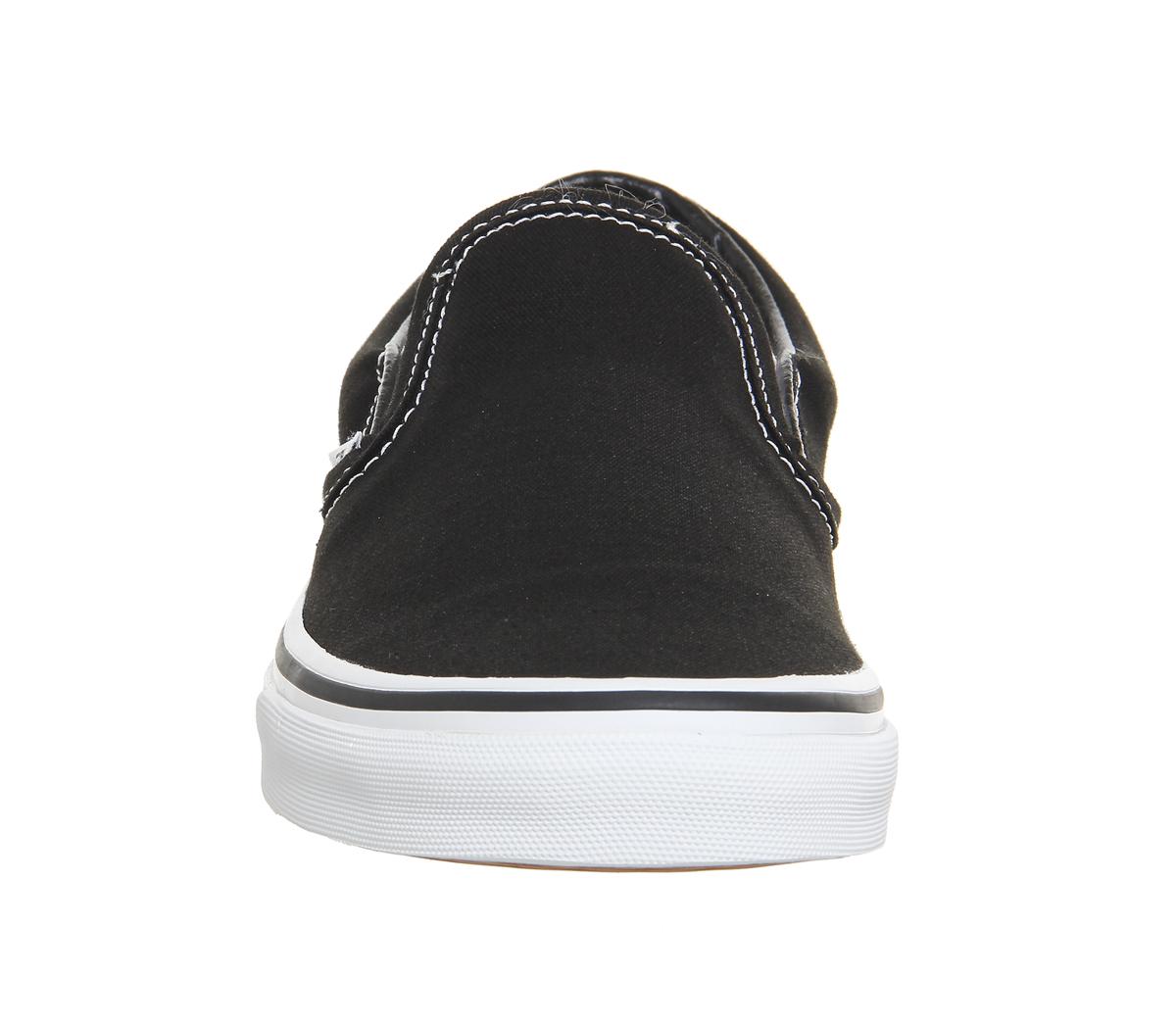 Herren Vans Weiß Klassisch Slipper Turnschuhe Schwarz Weiß Vans Turn Schuhe e1c55b