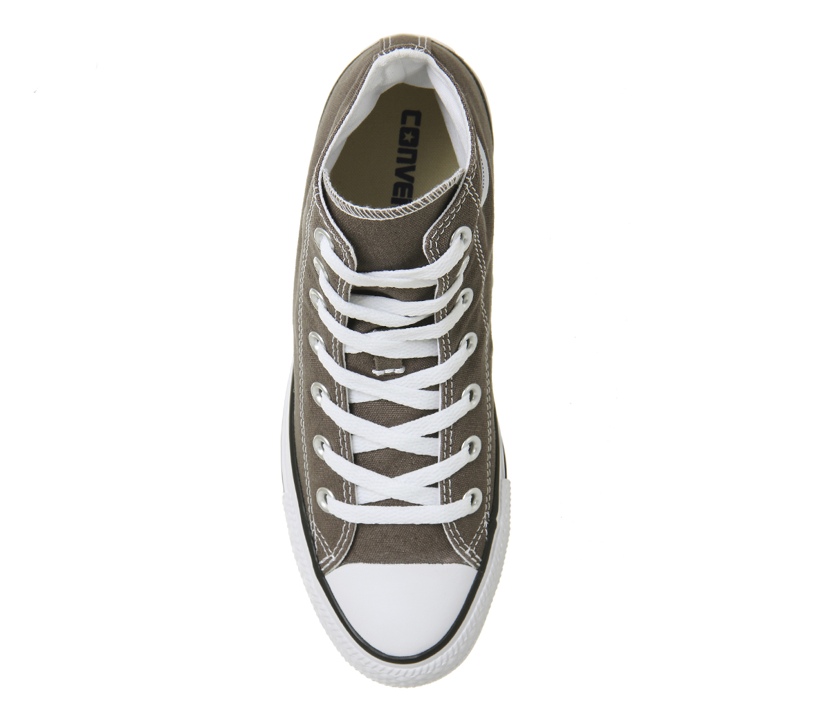 Damenschuhe Converse All Star Hi CHARCOAL Trainers Schuhes