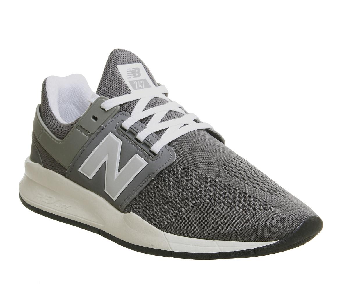 new arrival bb2c0 0291d Sentinel New Balance 247V2 Trainers Castlerock Bone Trainers Shoes
