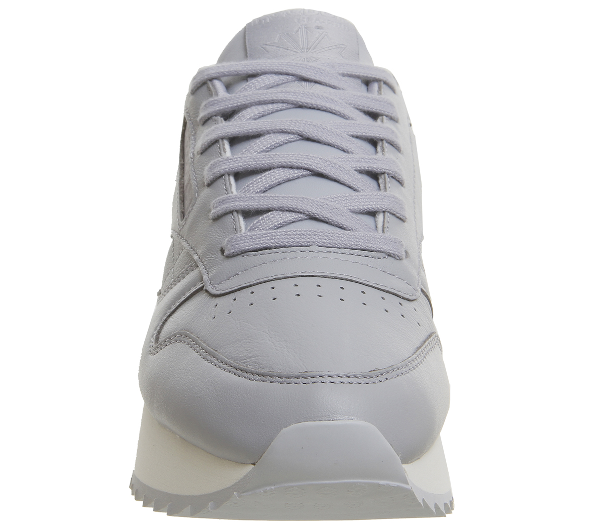 4d8653c3a6f06 Sentinel Womens Reebok Classic Leather Bold Trainers Cool Shadow Cloud Grey  Chalk Trainer