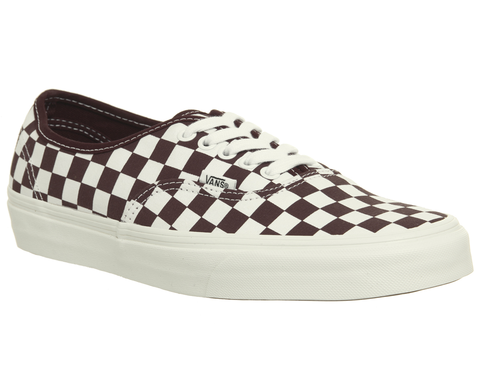 Sentinel Mens Vans Authentic Trainers Port Royale Marshmellow Checkerboard  Trainers Shoes e978f45e9