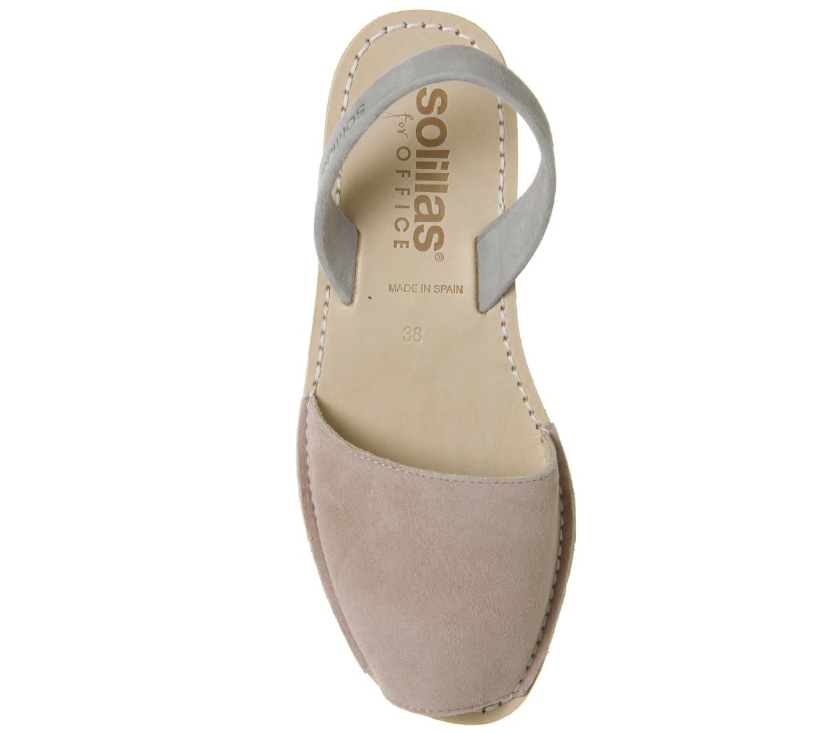 2613dda88aa1 Womens-Solillas-Solillas-Sandal-Pink-Grey-Sandals thumbnail 11