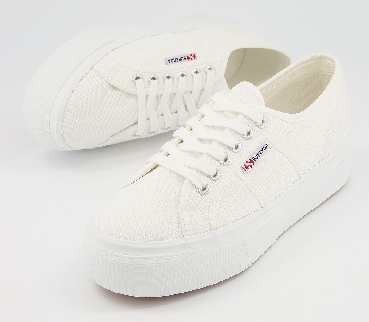 thumbnail 8 - Womens Superga 2790 (L) Trainers White Trainers Shoes