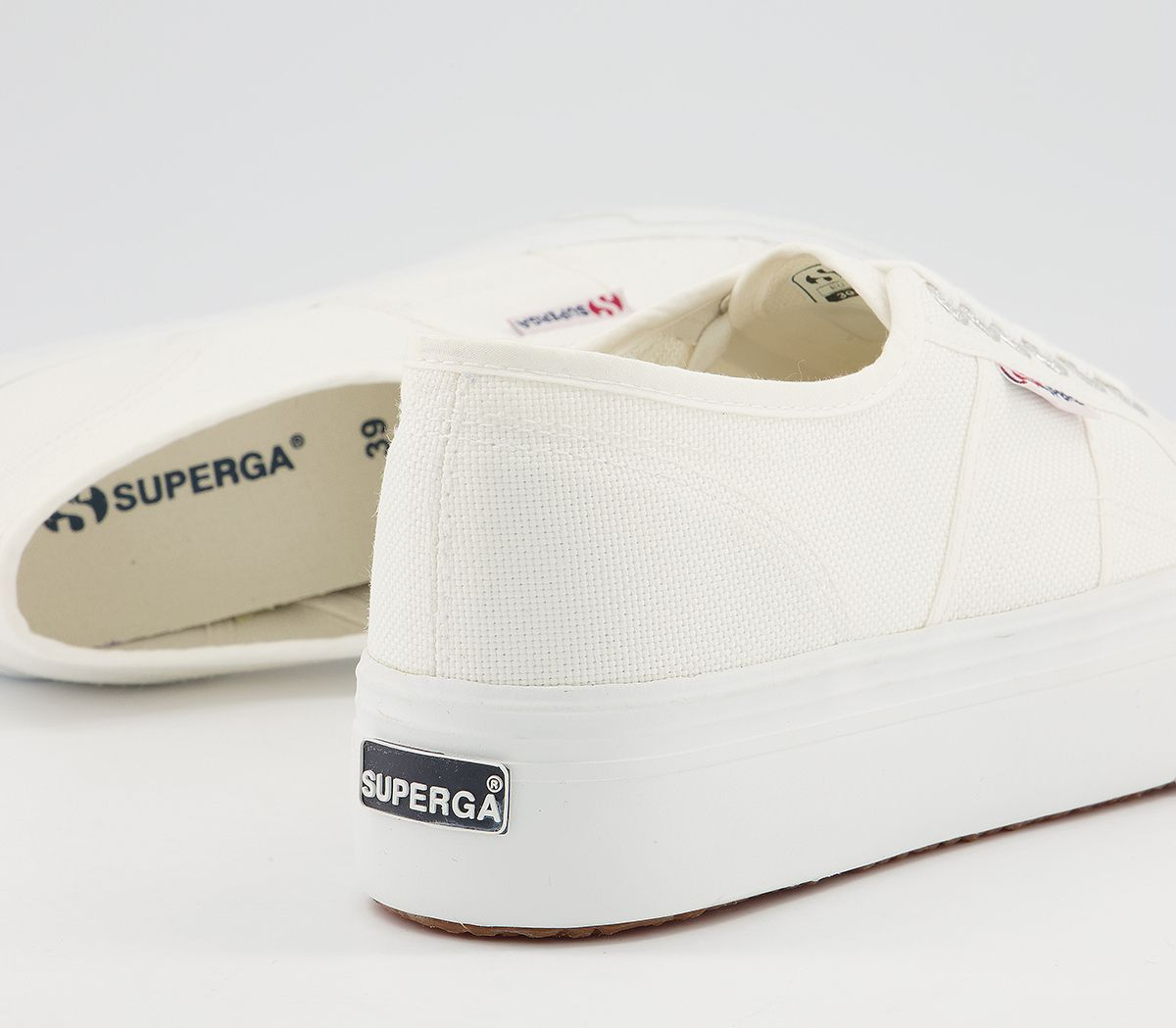thumbnail 12 - Womens Superga 2790 (L) Trainers White Trainers Shoes