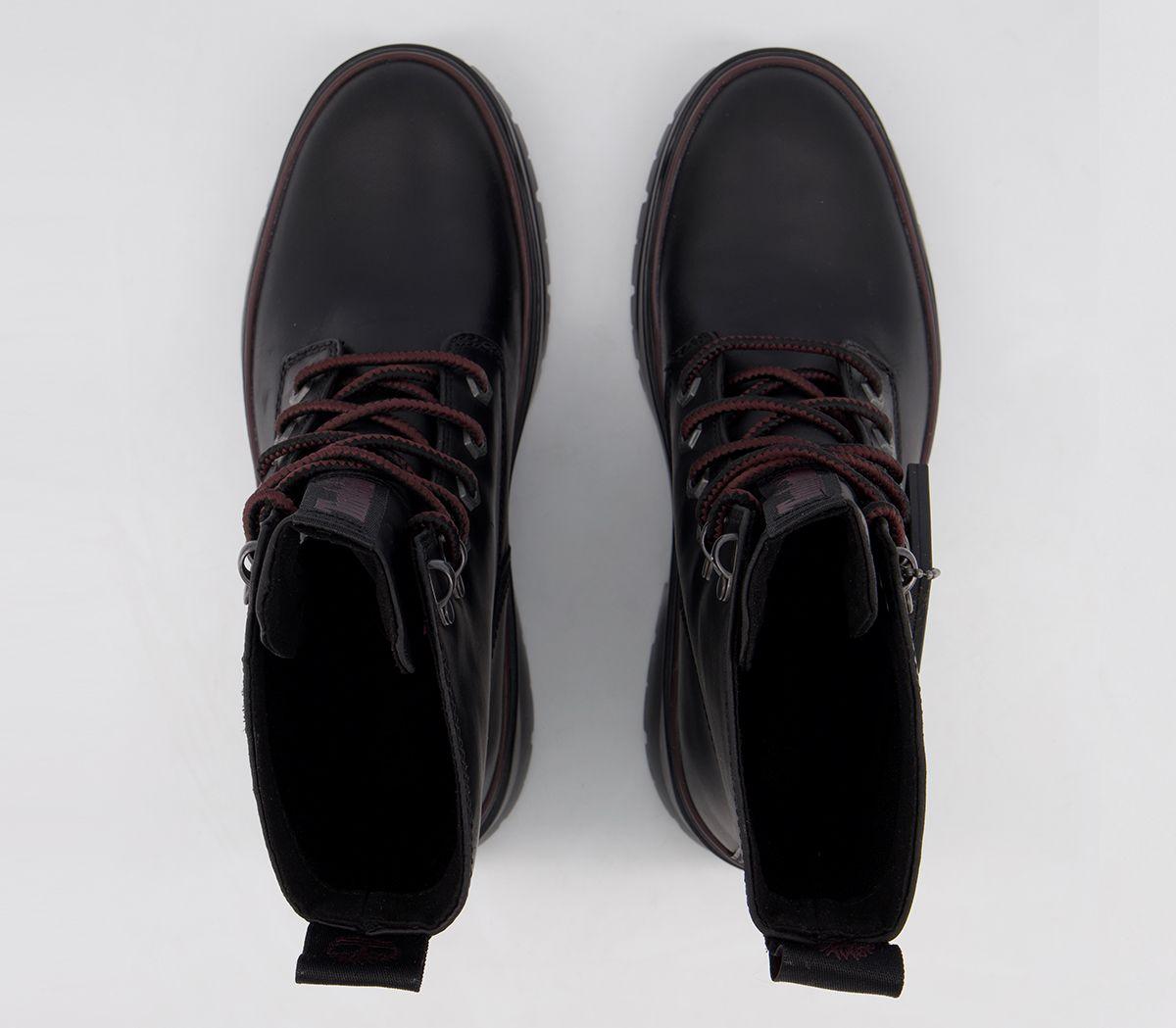 muerte misil Curso de colisión  Mujer Timberland Maylynn Impermeable Botas Cordones Botas Negras | eBay